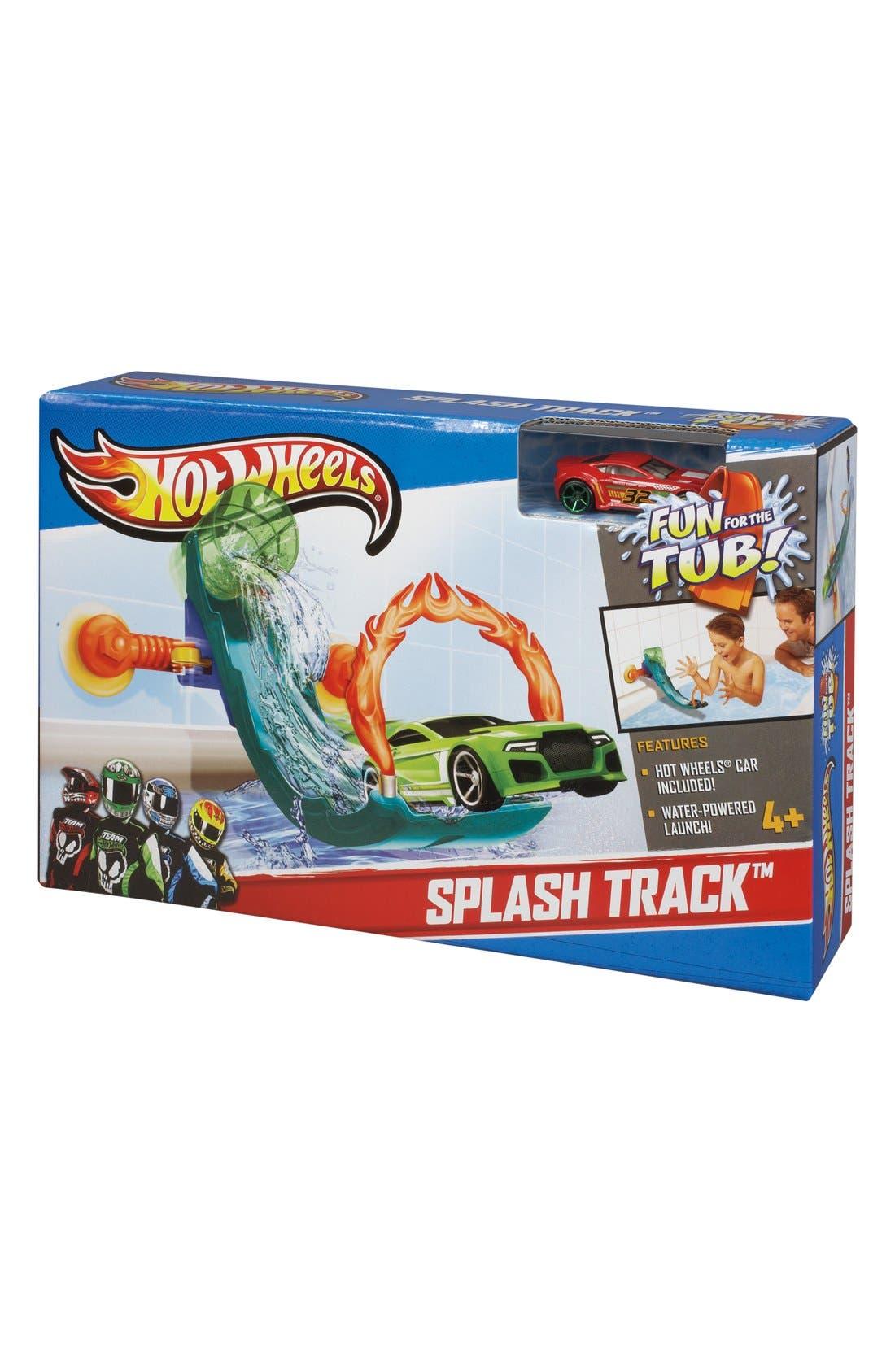 MATTEL,                             'Hot Wheels<sup>®</sup> - Splash Track<sup>™</sup>' Tub Track Set,                             Main thumbnail 1, color,                             400