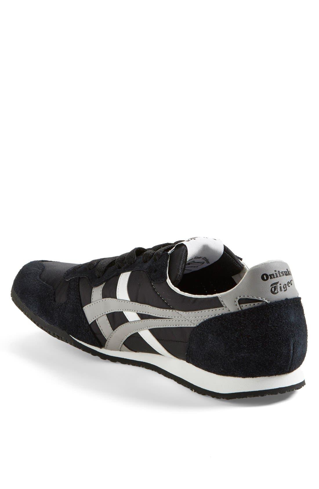 'Serrano' Sneaker,                             Alternate thumbnail 2, color,                             BLACK/ LIGHT GREY/ WHITE