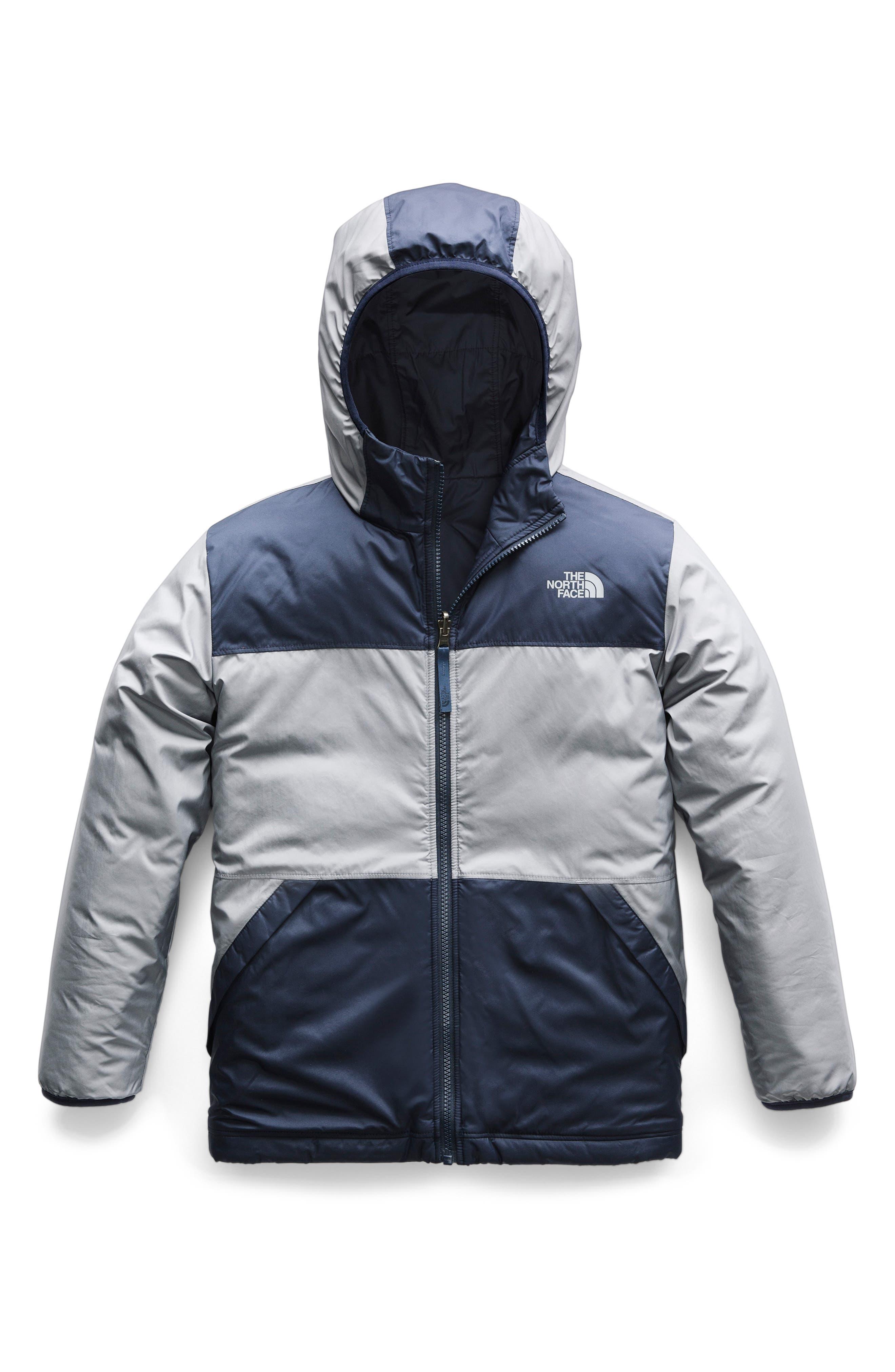 True or False Reversible Jacket,                             Main thumbnail 1, color,                             SHADY BLUE