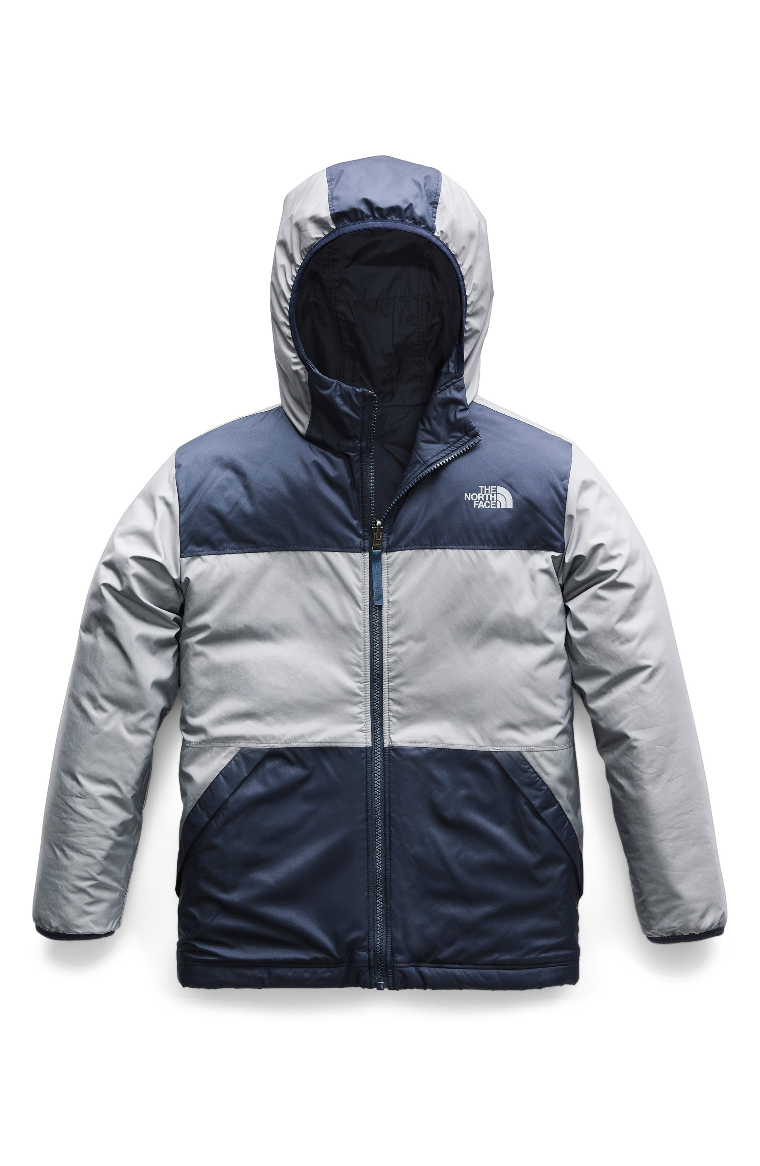 True or False Reversible Jacket,                         Main,                         color, SHADY BLUE