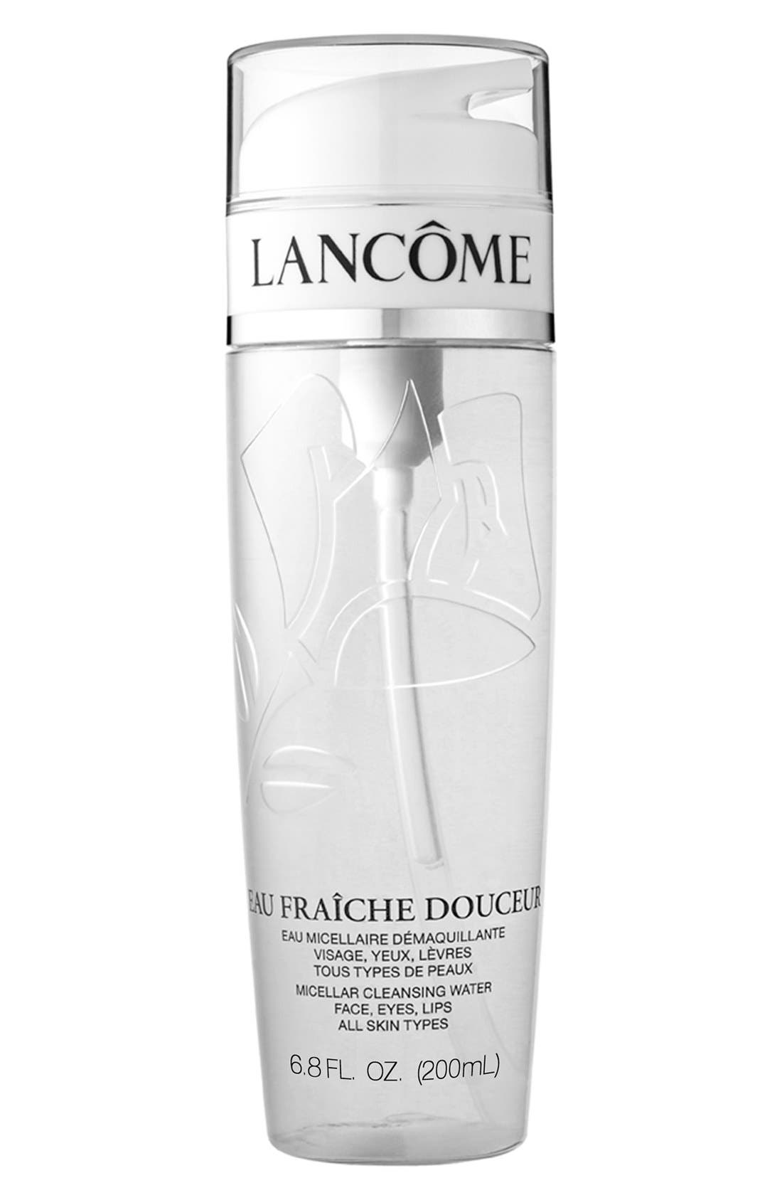 LANCÔME,                             Eau Fraîche Douceur Micellar Cleansing Water,                             Alternate thumbnail 2, color,                             NO COLOR