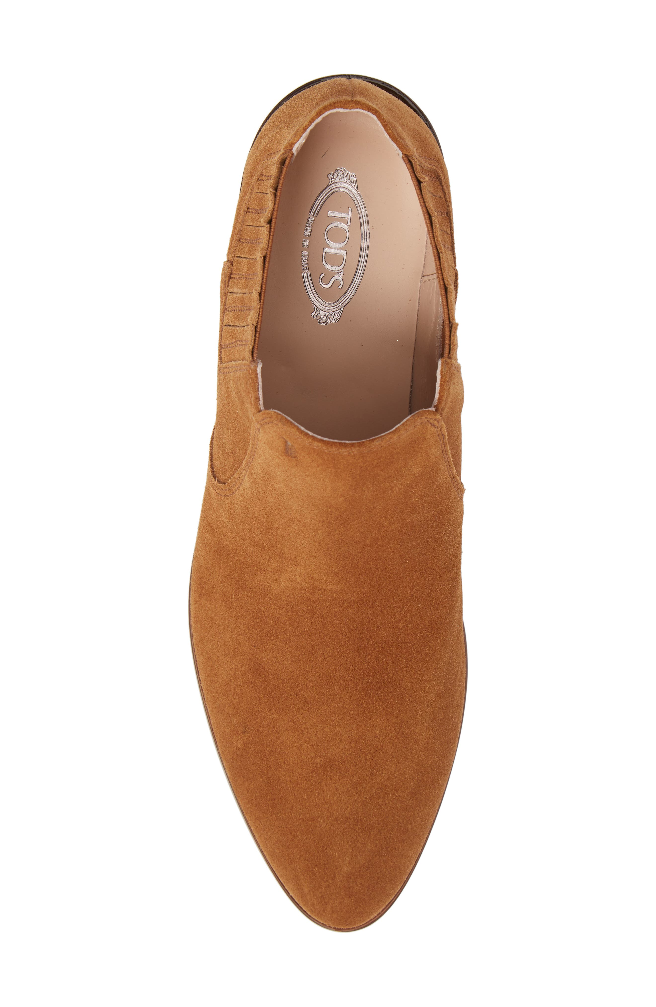 TOD'S,                             Tex Ankle Boot,                             Alternate thumbnail 5, color,                             200