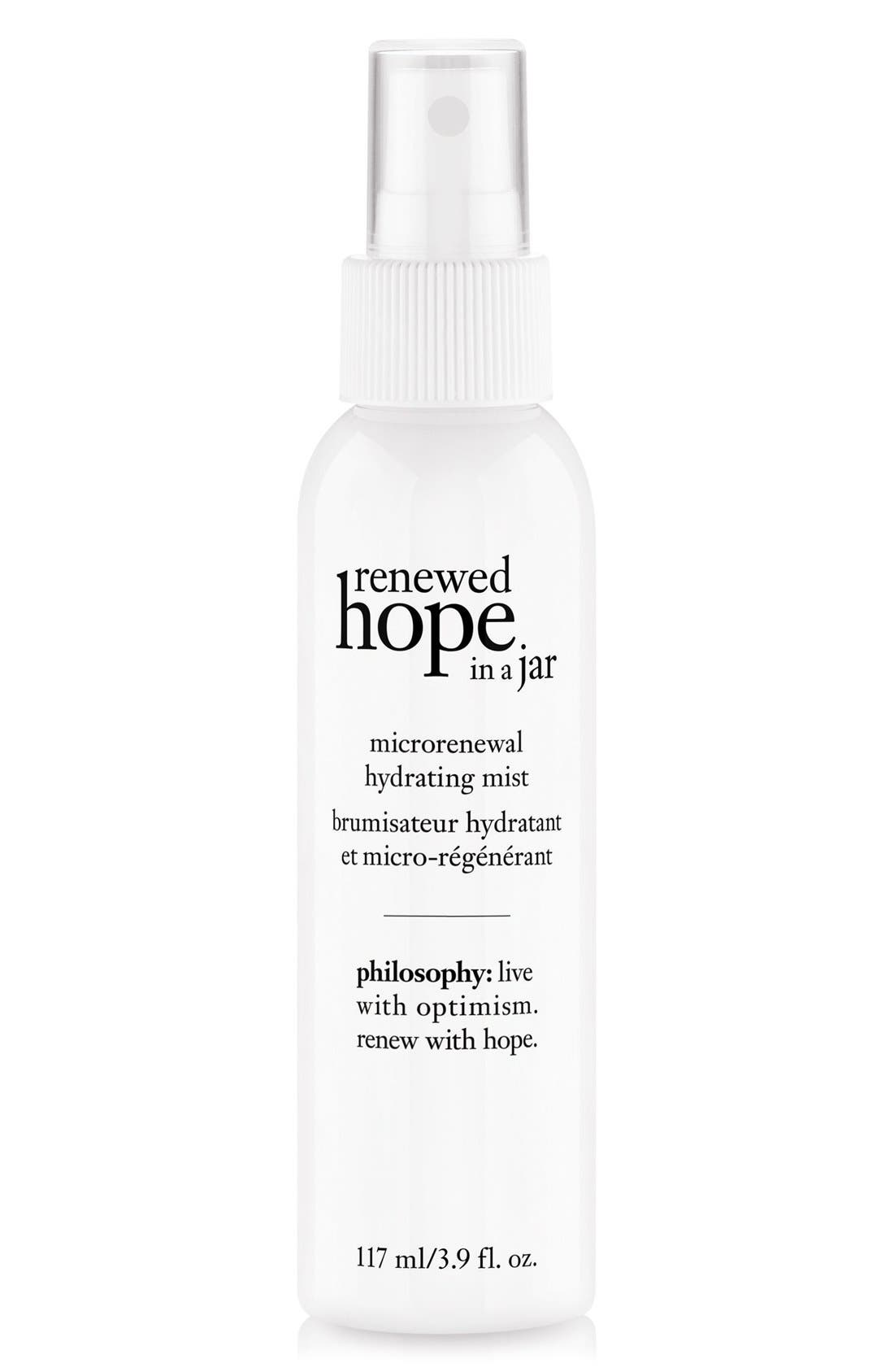 renewed hope in a jar microrenewal hydrating mist,                         Main,                         color,