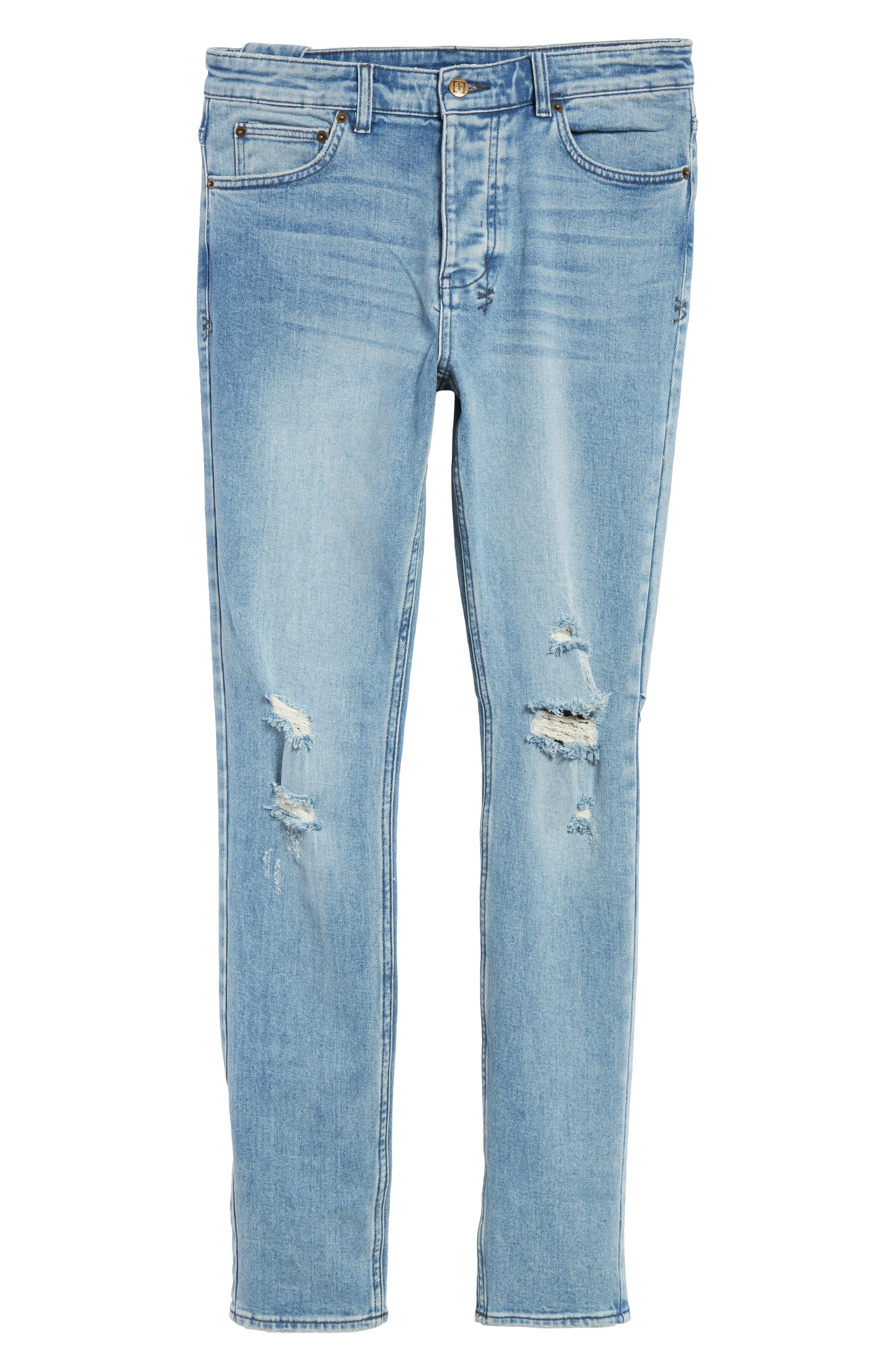 Chitch Philly Jeans,                             Alternate thumbnail 6, color,                             BLUE