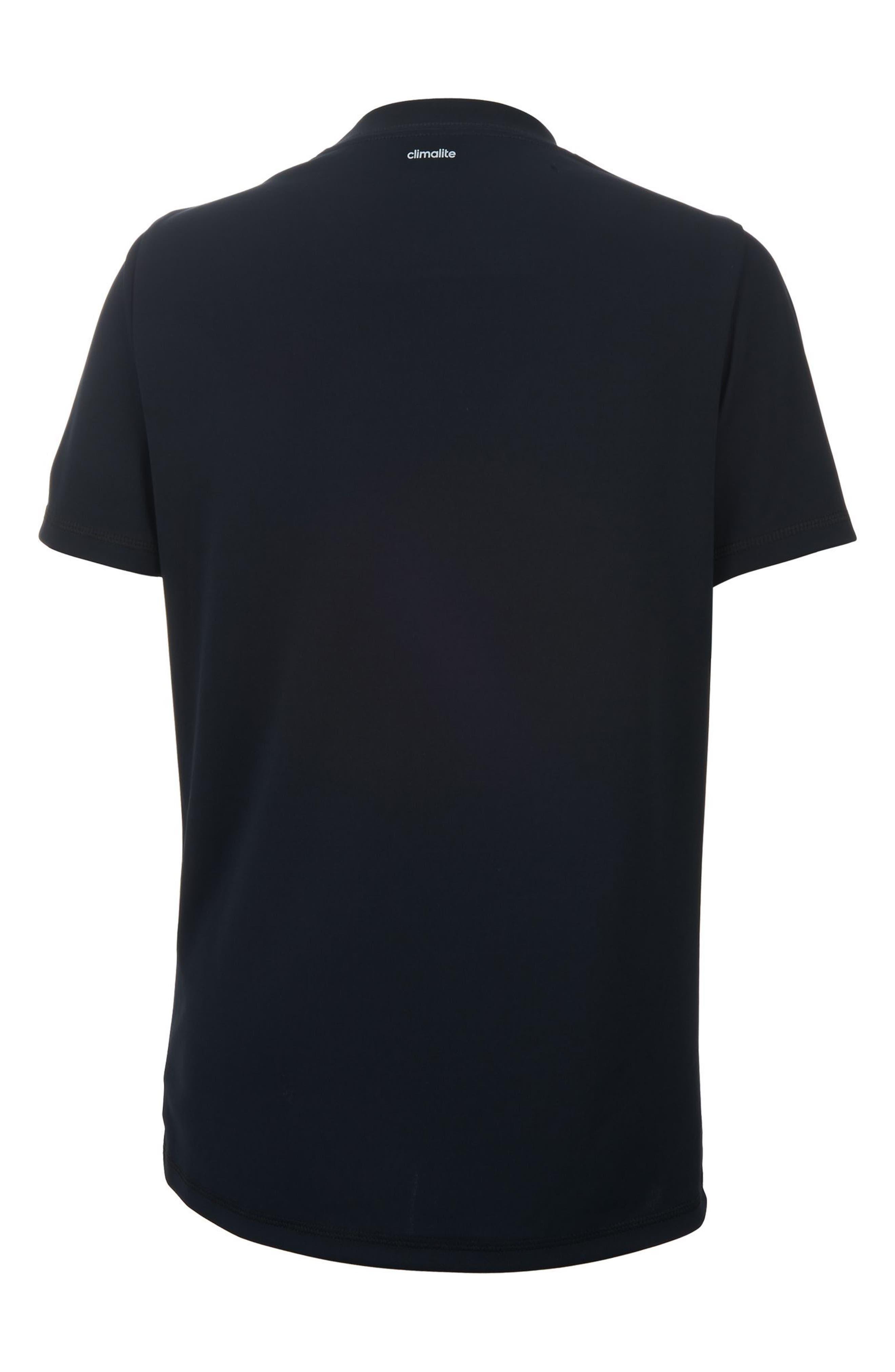 Replenish Climalite<sup>®</sup> T-Shirt,                             Alternate thumbnail 2, color,                             001