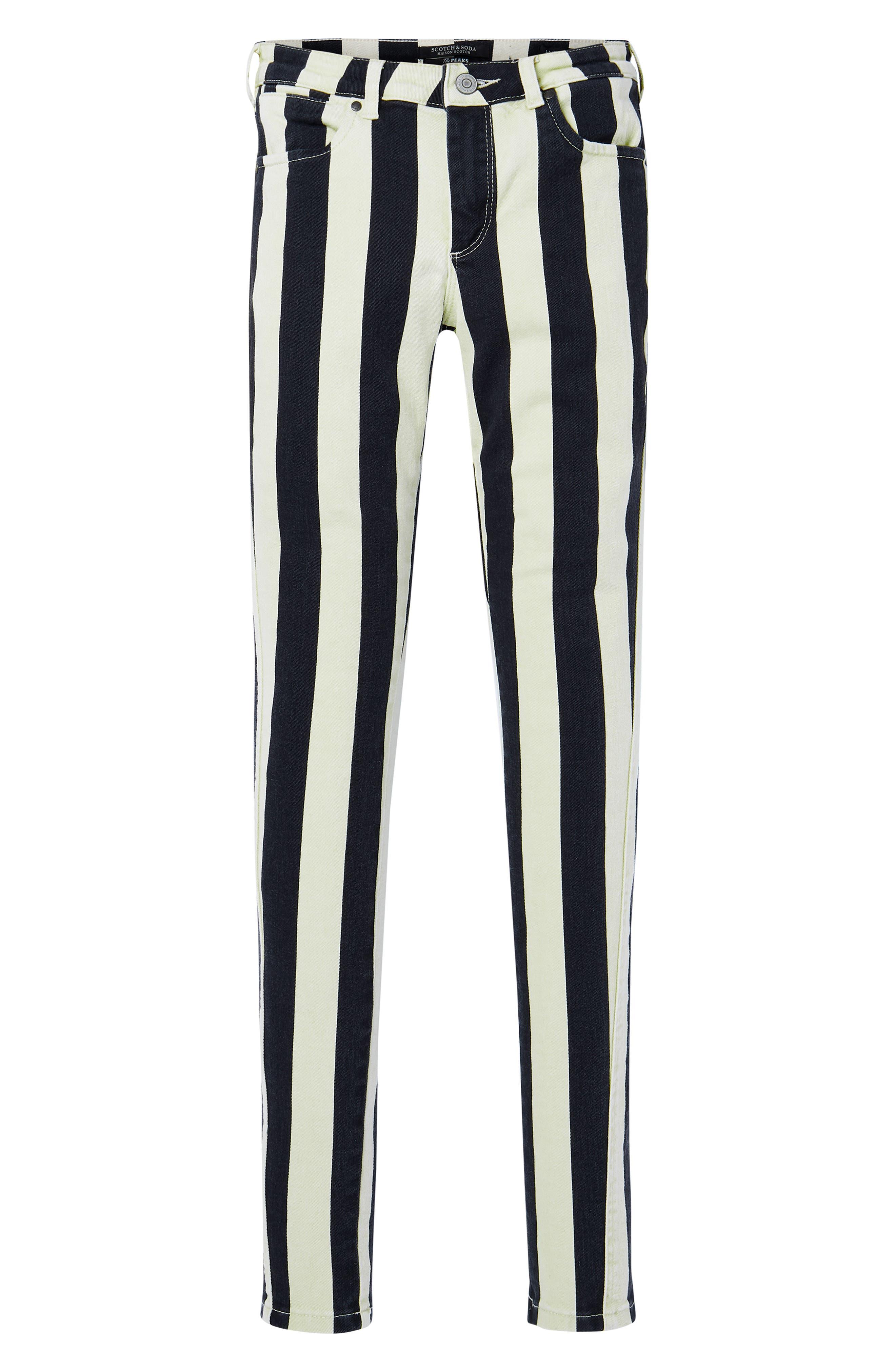 La Bohemienne Skinny Fit Pants,                             Alternate thumbnail 4, color,                             400