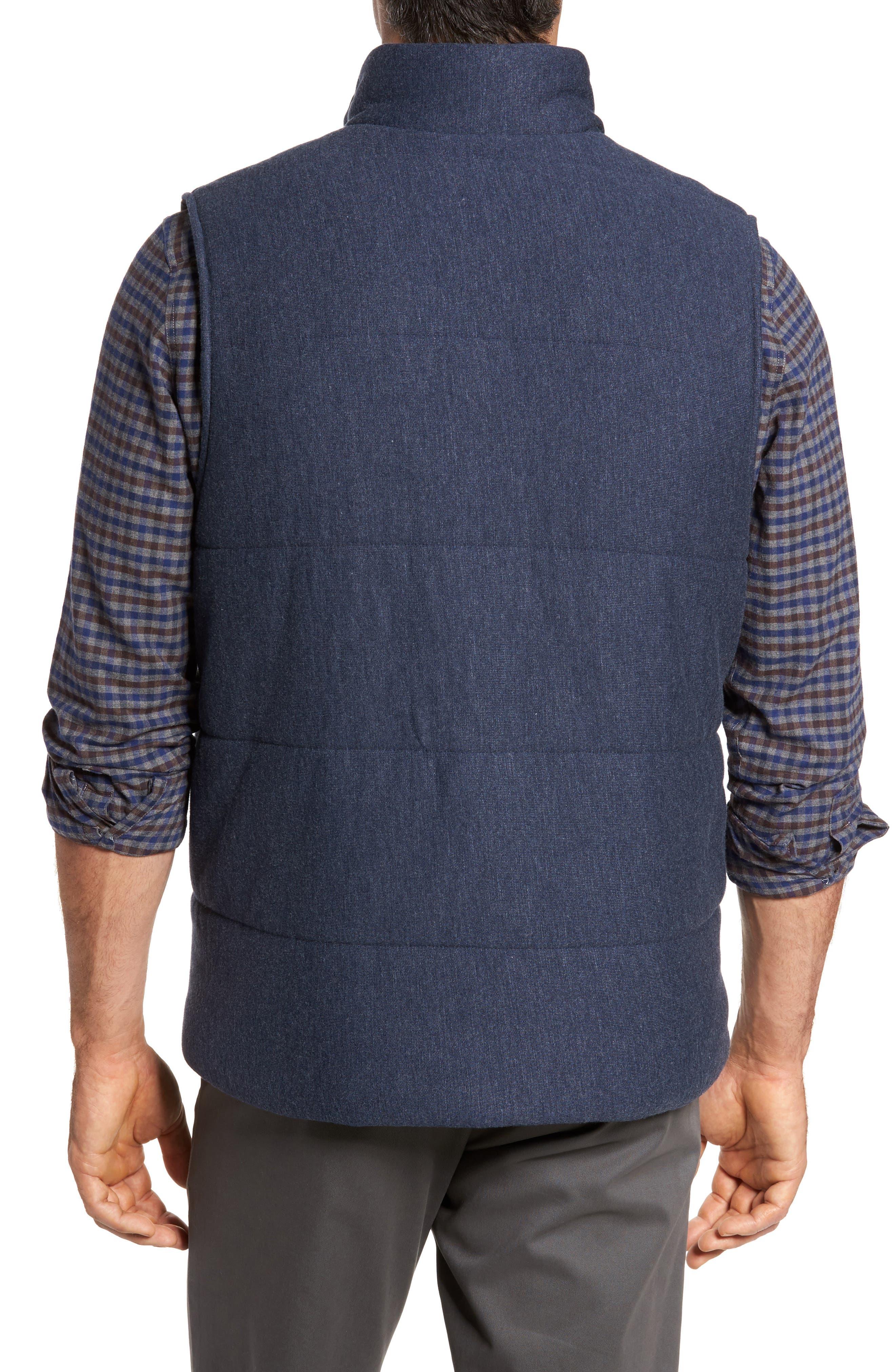 Quilted Fleece Vest,                             Alternate thumbnail 4, color,