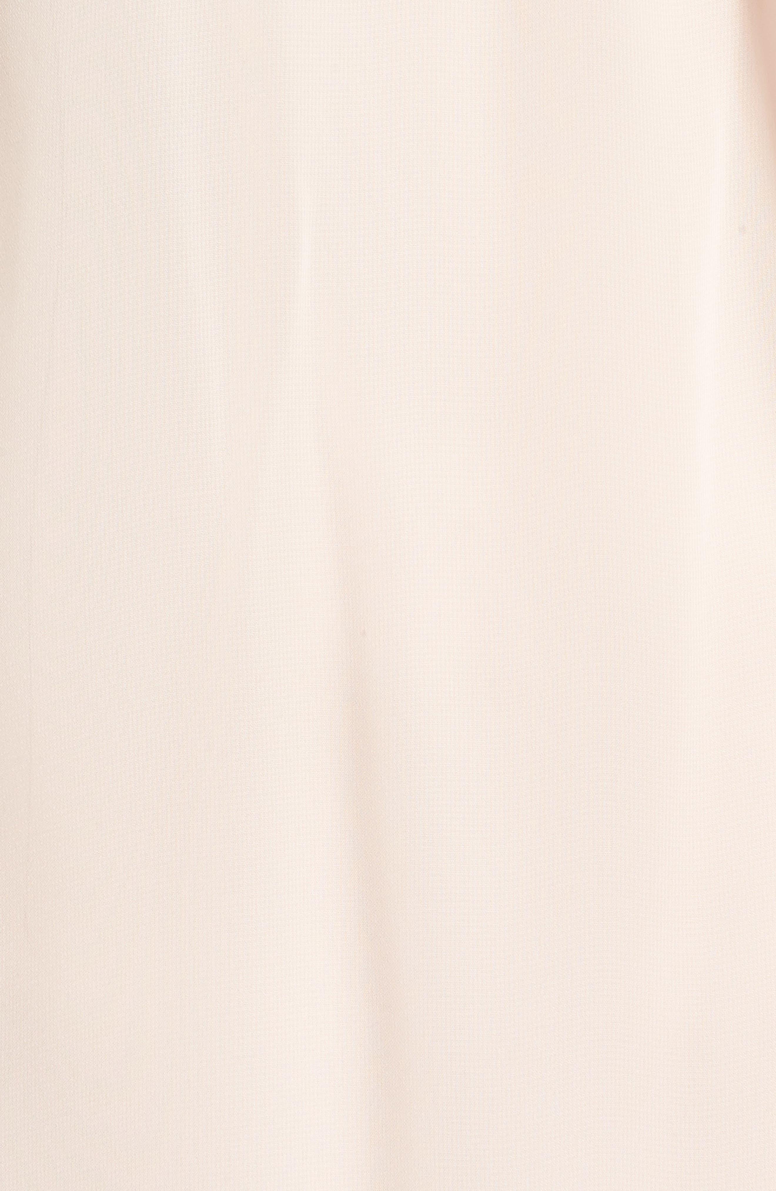 Beaded Collar Trapeze Dress,                             Alternate thumbnail 10, color,