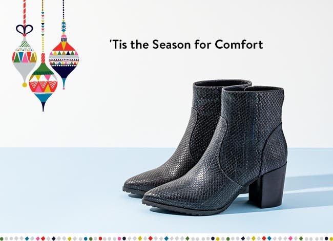 'Tis the season for comfort.