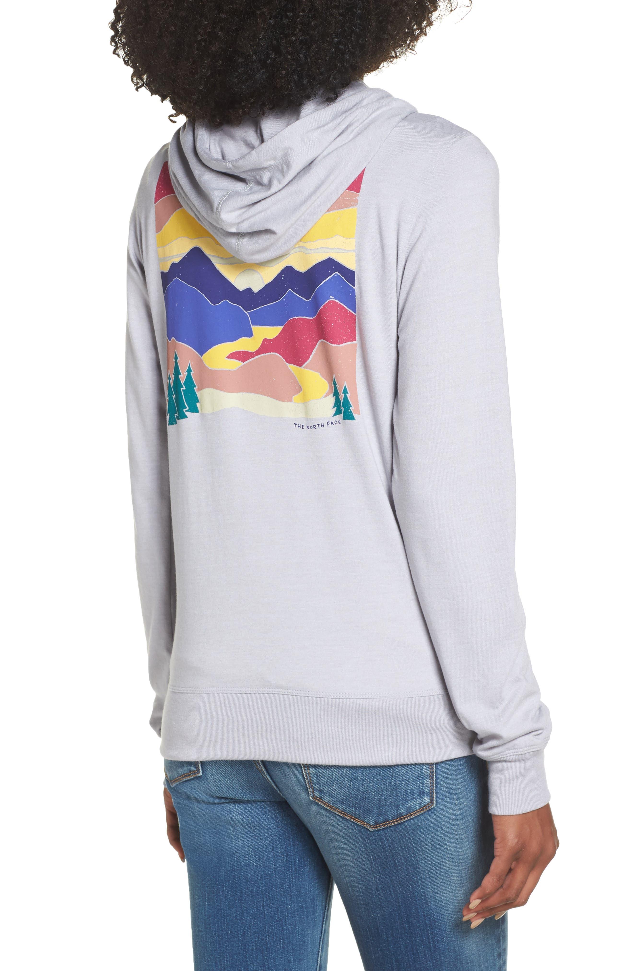 Lightweight Hoodie Sweatshirt,                             Alternate thumbnail 2, color,                             TNF LIGHT GREY HEATHER