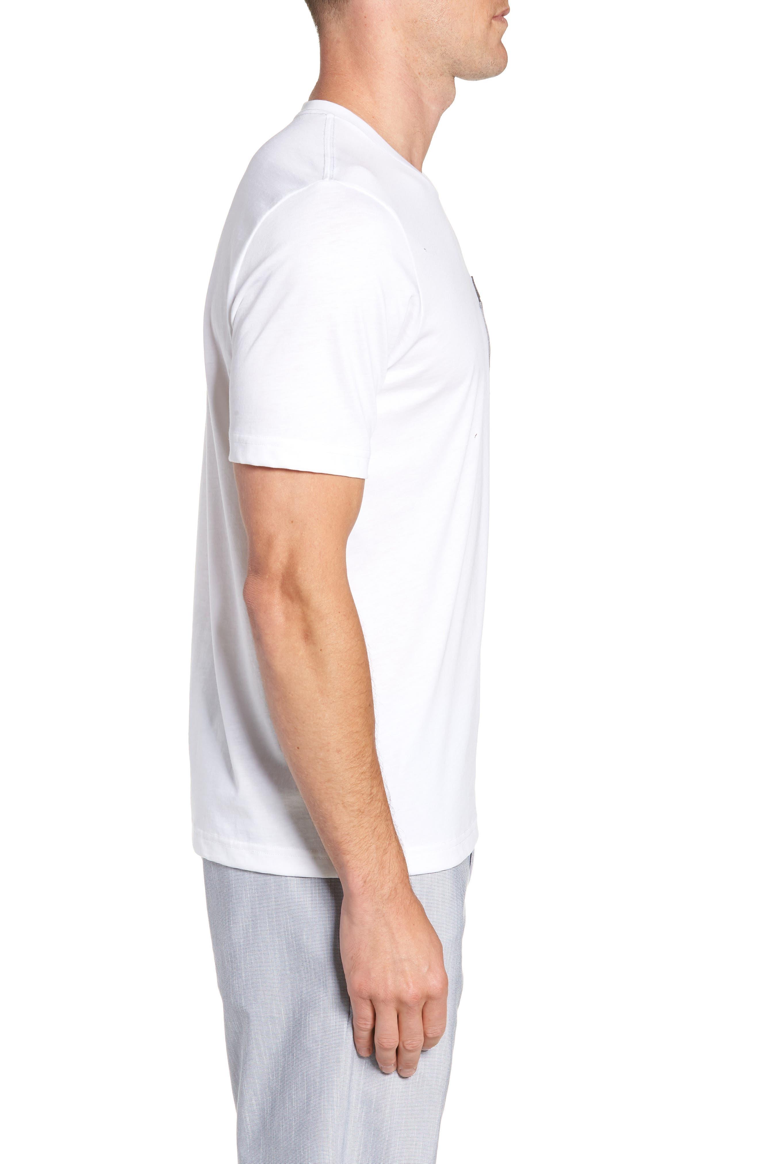 Muska Pocket T-Shirt,                             Alternate thumbnail 3, color,                             100