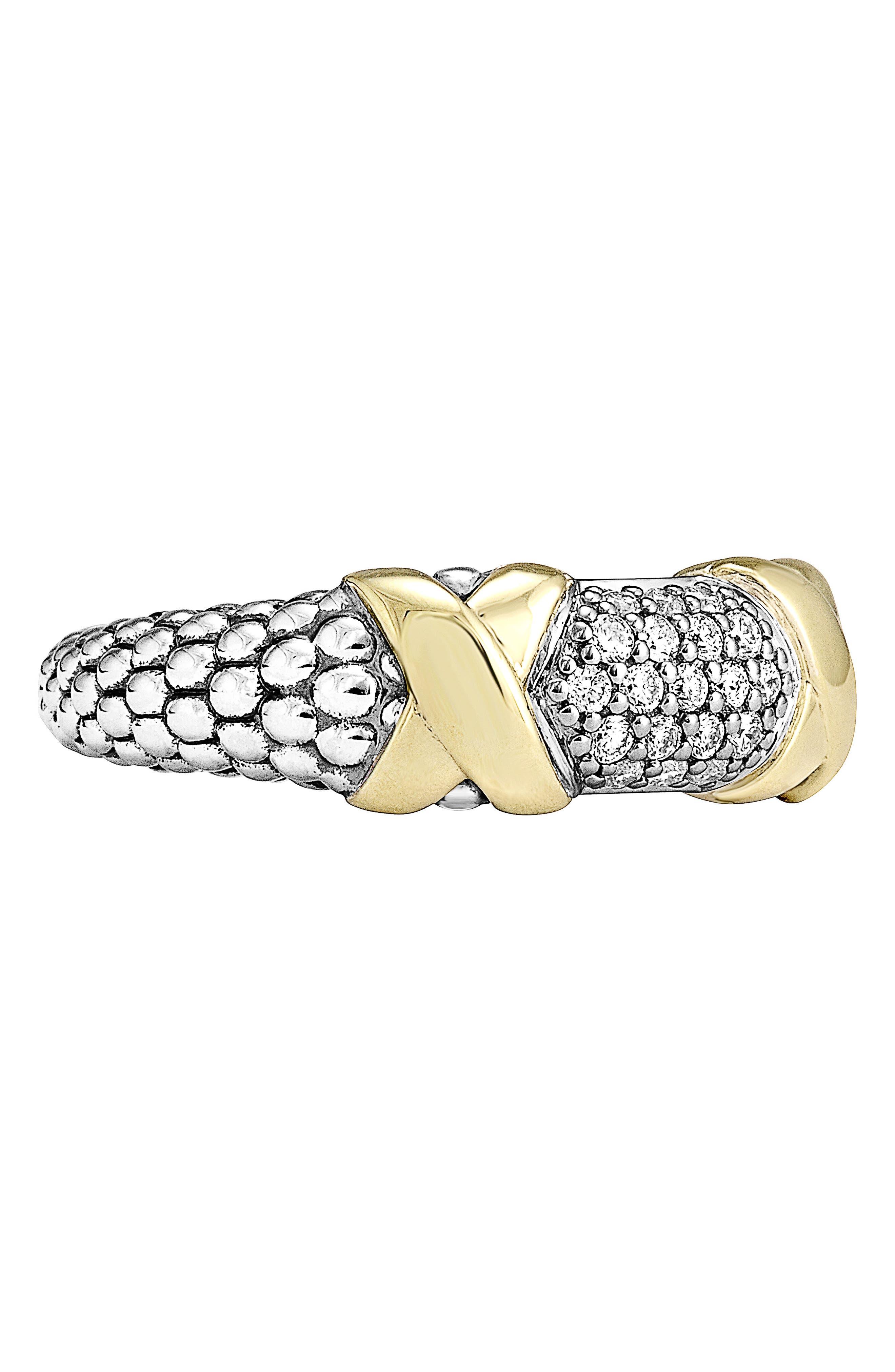 'Diamond Luxe' Ring,                             Alternate thumbnail 3, color,                             040