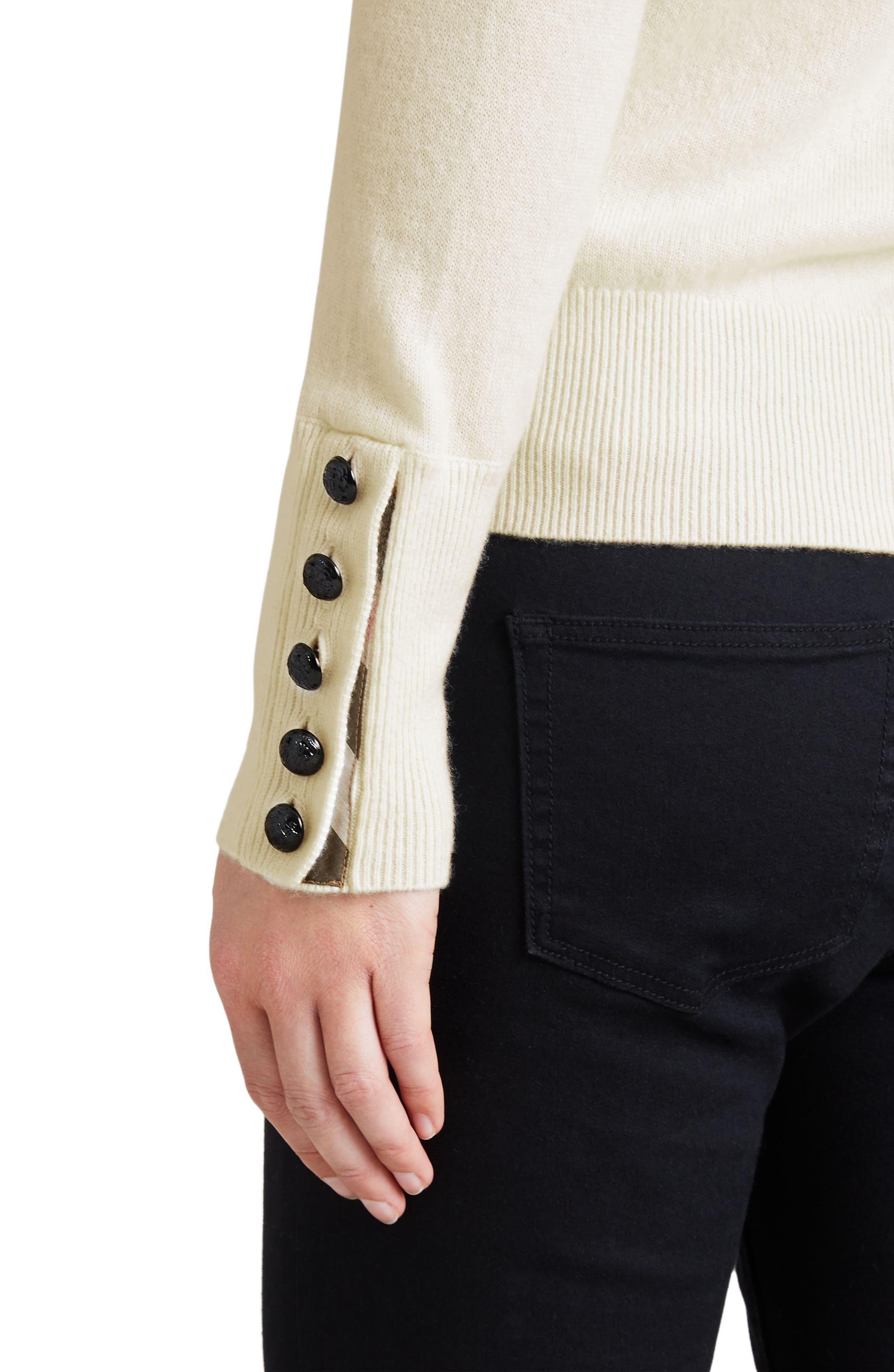 Carapelle Cashmere Sweater,                             Alternate thumbnail 8, color,