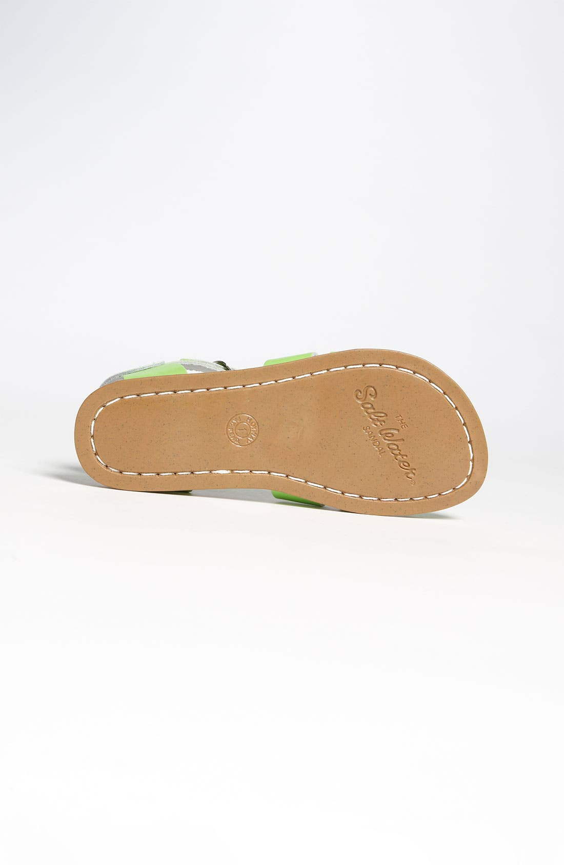 Water Friendly Sandal,                             Alternate thumbnail 4, color,                             LIME