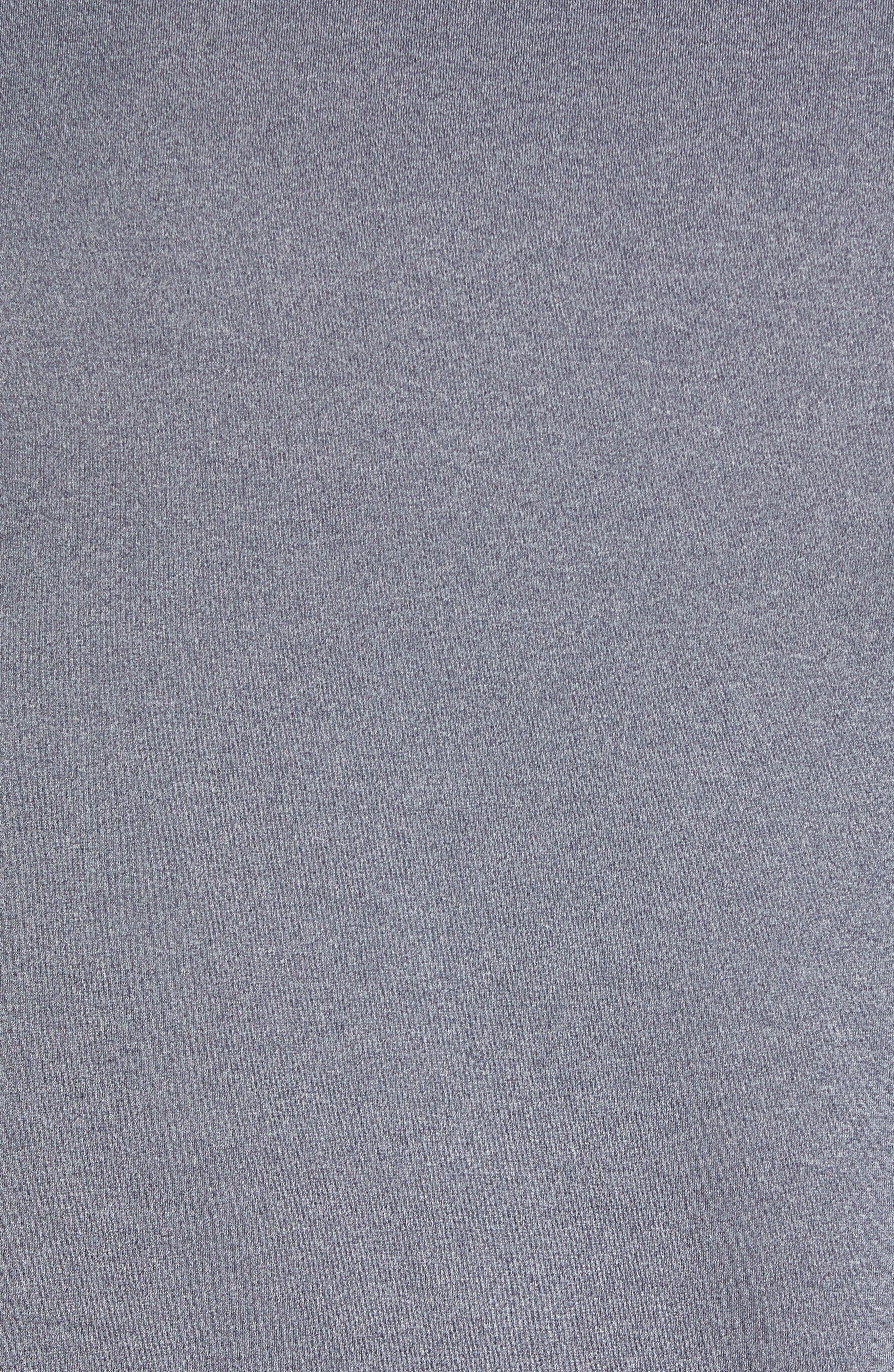 Stretch Knit Polo,                             Alternate thumbnail 5, color,                             BLACK