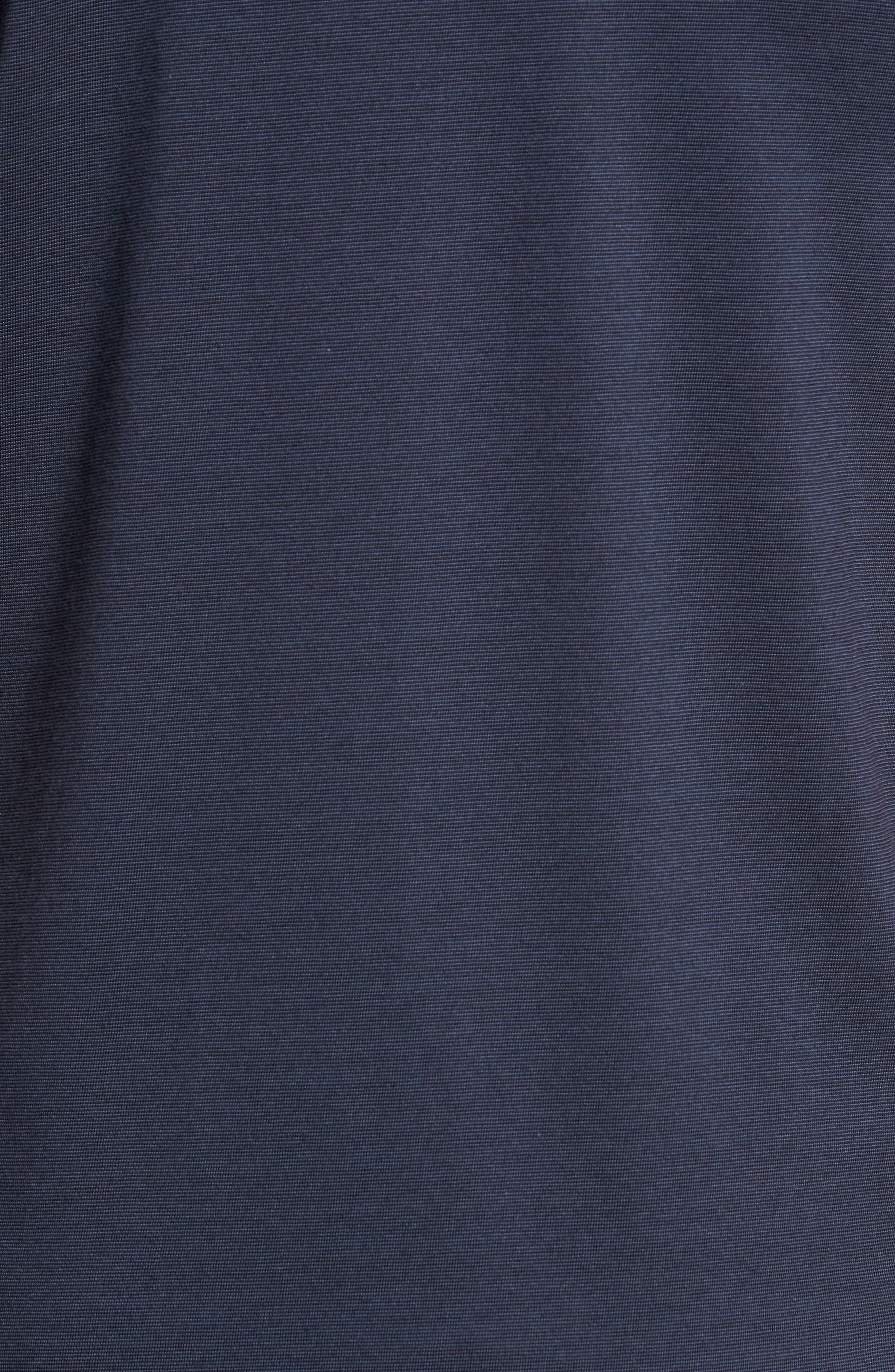 The Zinna Performance Polo,                             Alternate thumbnail 5, color,                             VINTAGE INDIGO/ BLACK