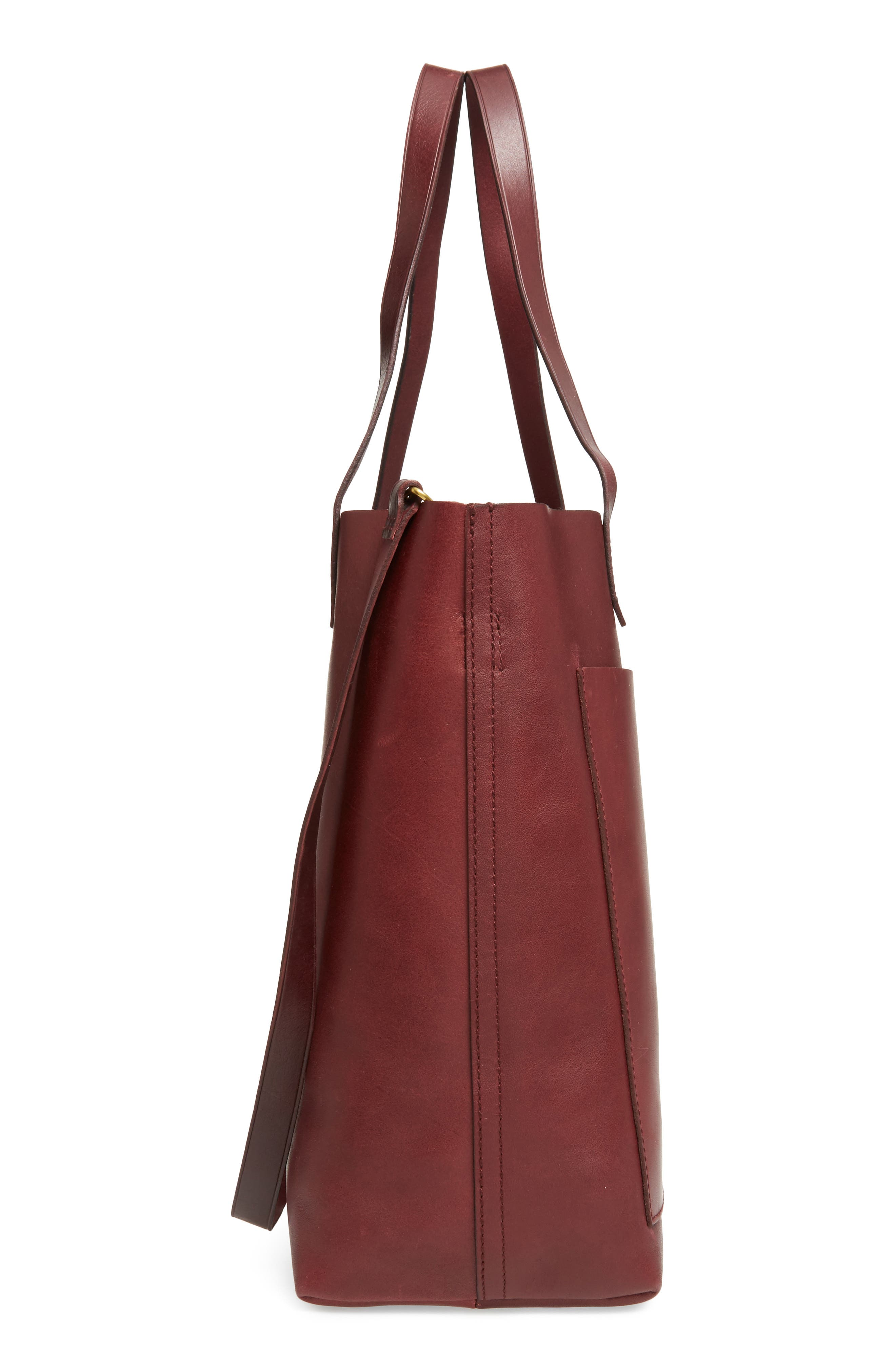 Medium Leather Transport Tote,                             Alternate thumbnail 70, color,