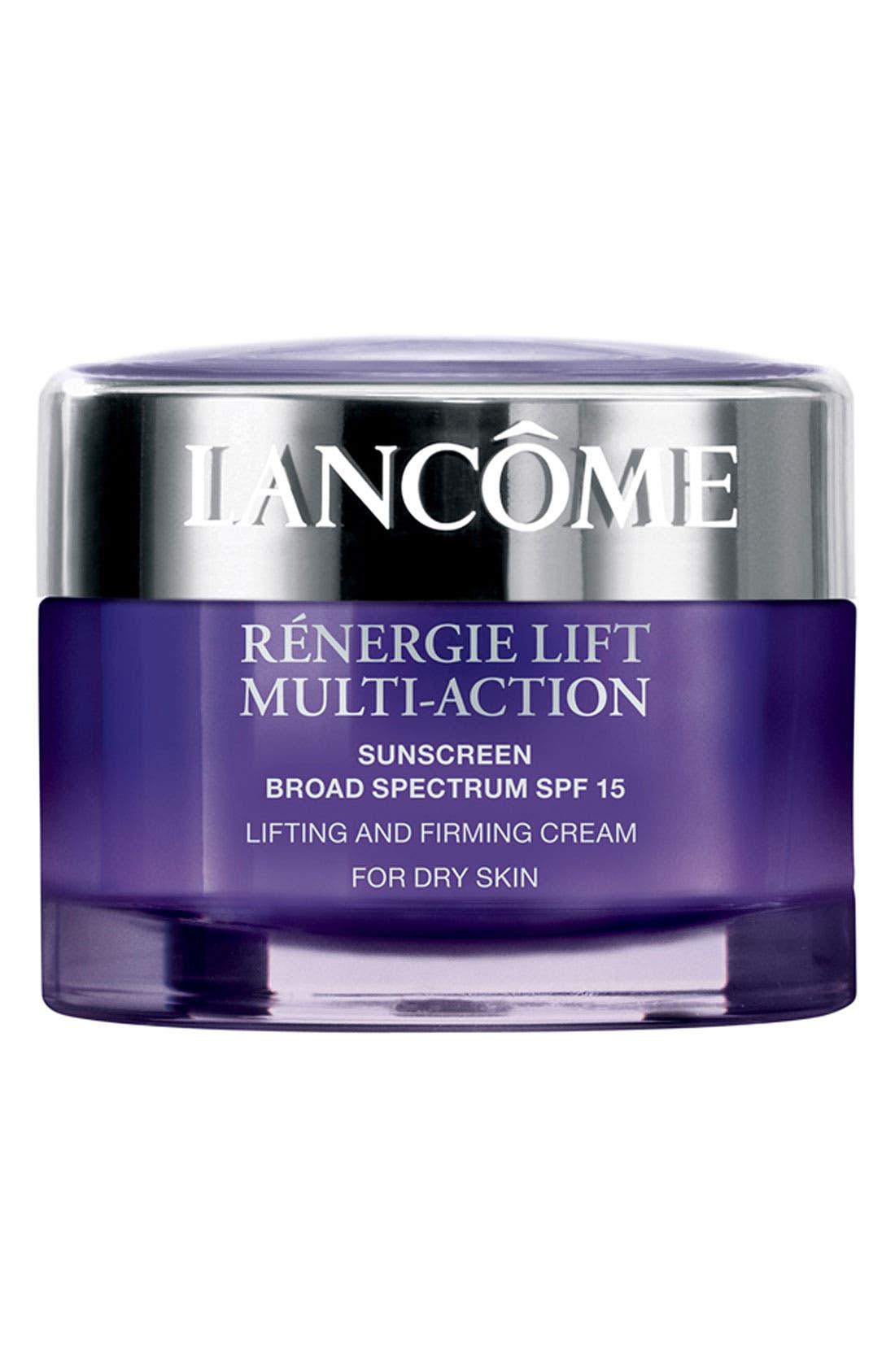 Rénergie Lift Multi Action Moisturizer Cream SPF 15 for Dry Skin,                             Main thumbnail 1, color,                             NO COLOR