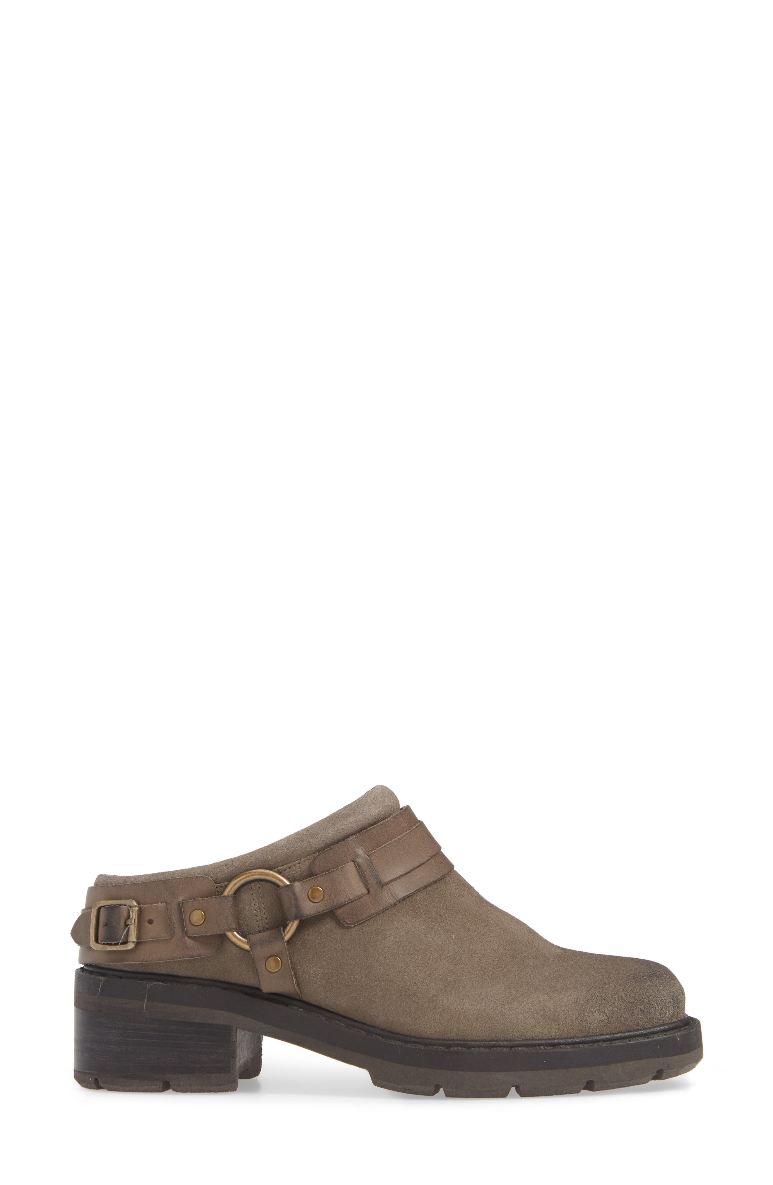 Marco Mule,                             Alternate thumbnail 3, color,                             TAUPE LEATHER
