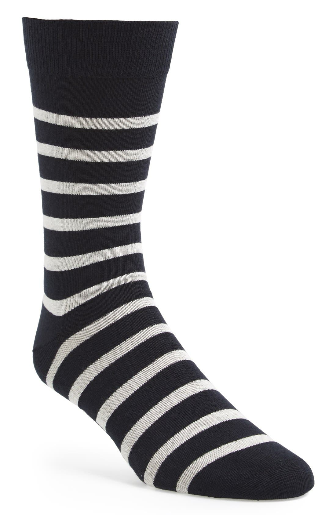 'Pieds Rayes A' Striped Socks,                             Main thumbnail 6, color,
