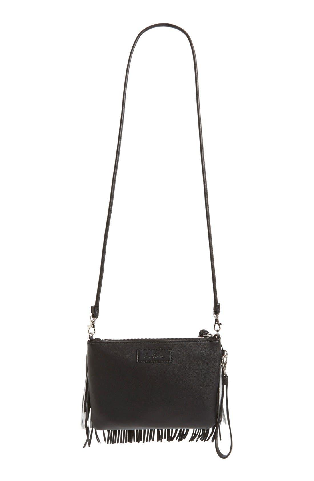 'Camilla' Convertible Crossbody Bag,                             Alternate thumbnail 3, color,                             001