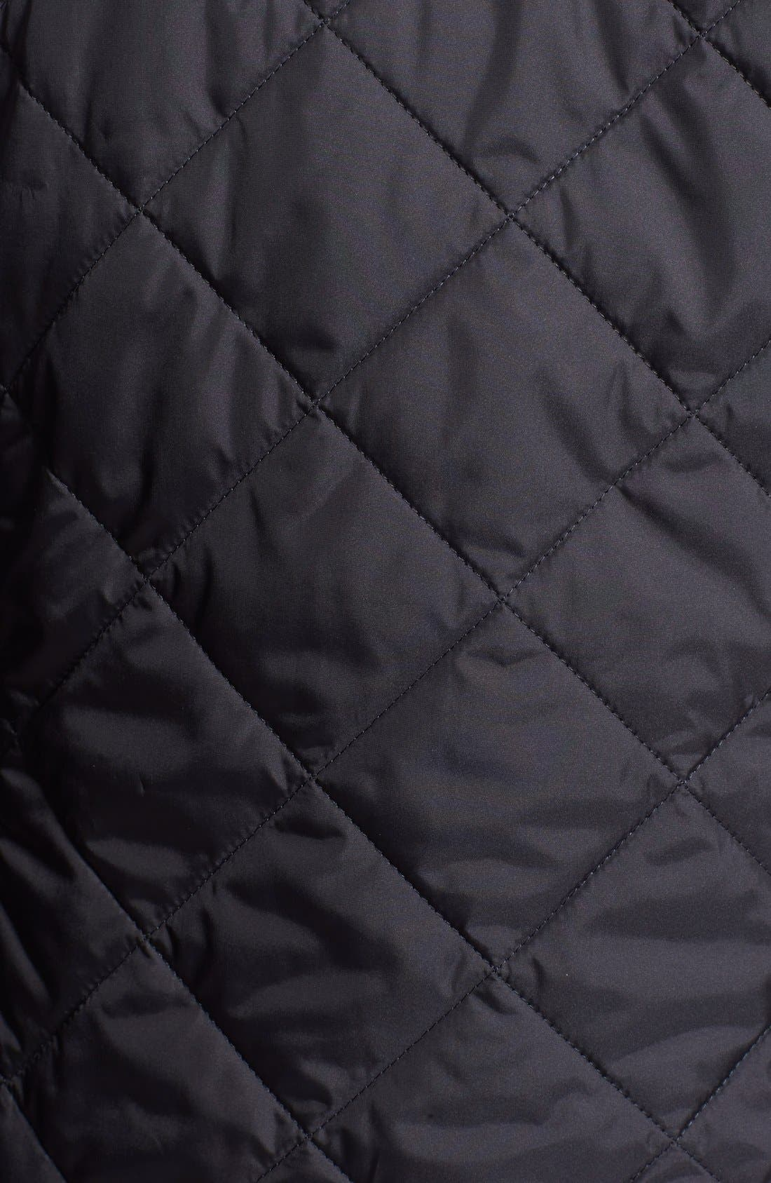 Regular Fit Quilted Jacket,                             Alternate thumbnail 3, color,                             411