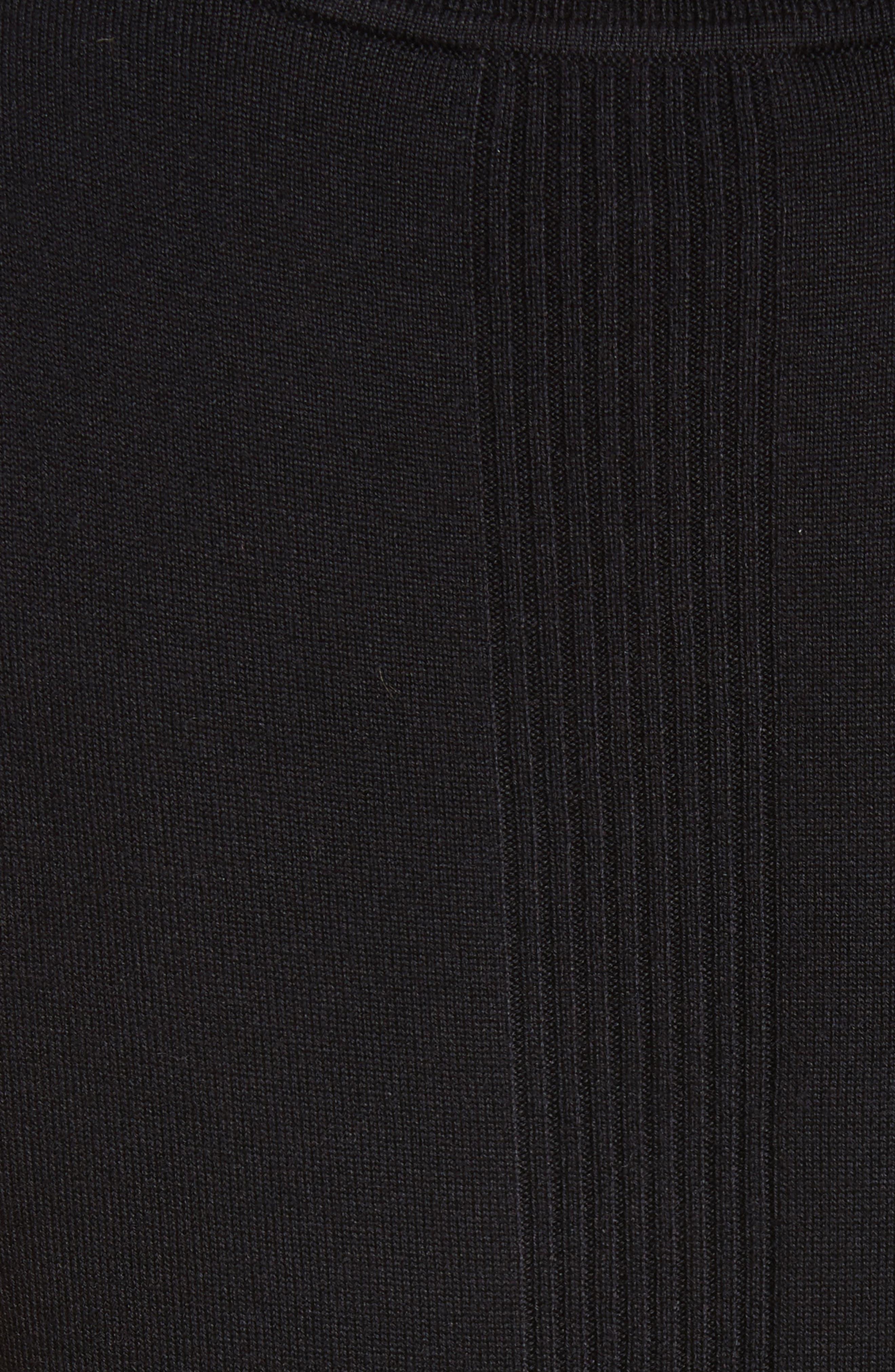 Dot Print Knit Shell,                             Alternate thumbnail 5, color,                             001
