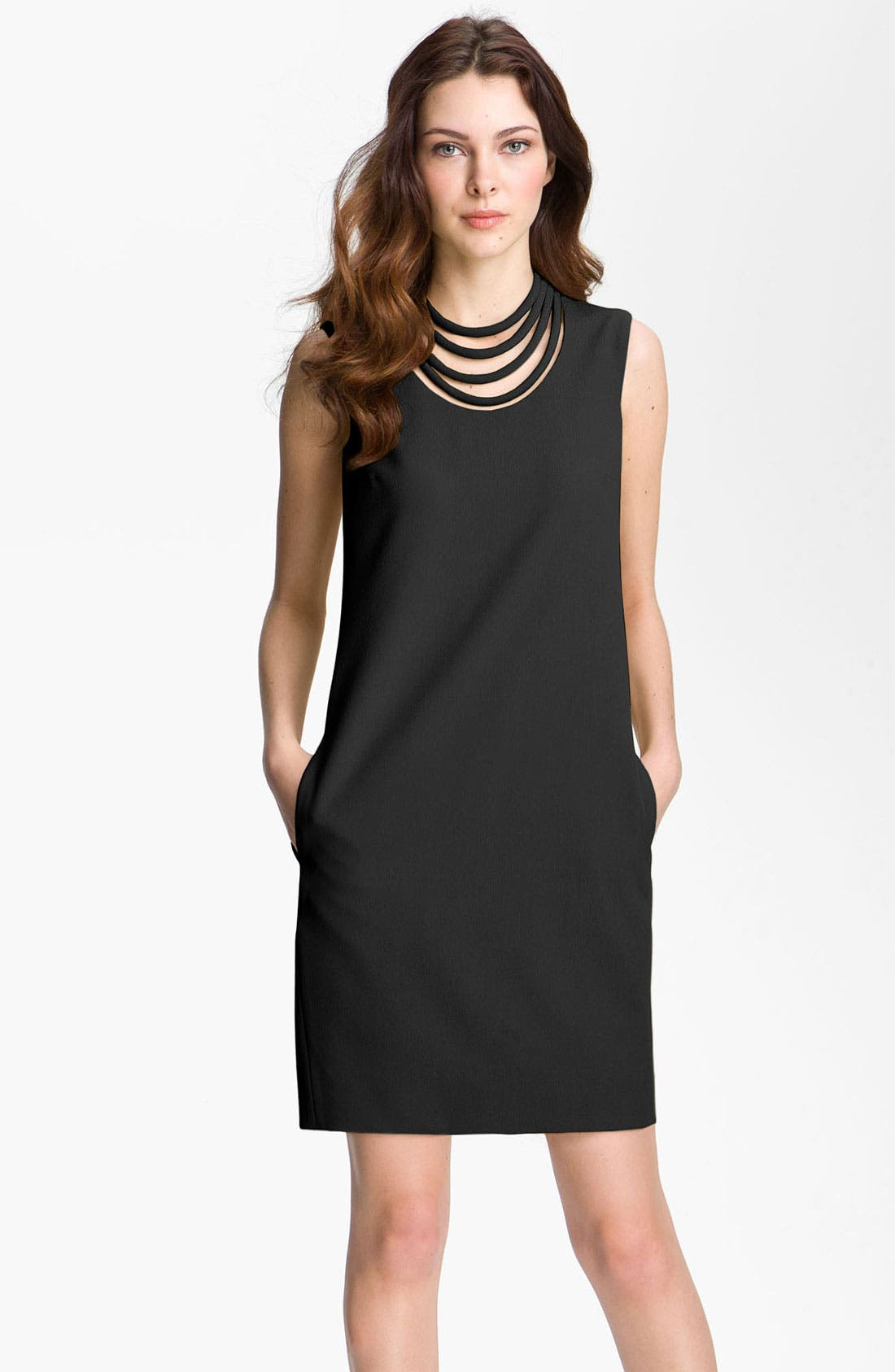 'Noralie' Shift Dress,                         Main,                         color, 001