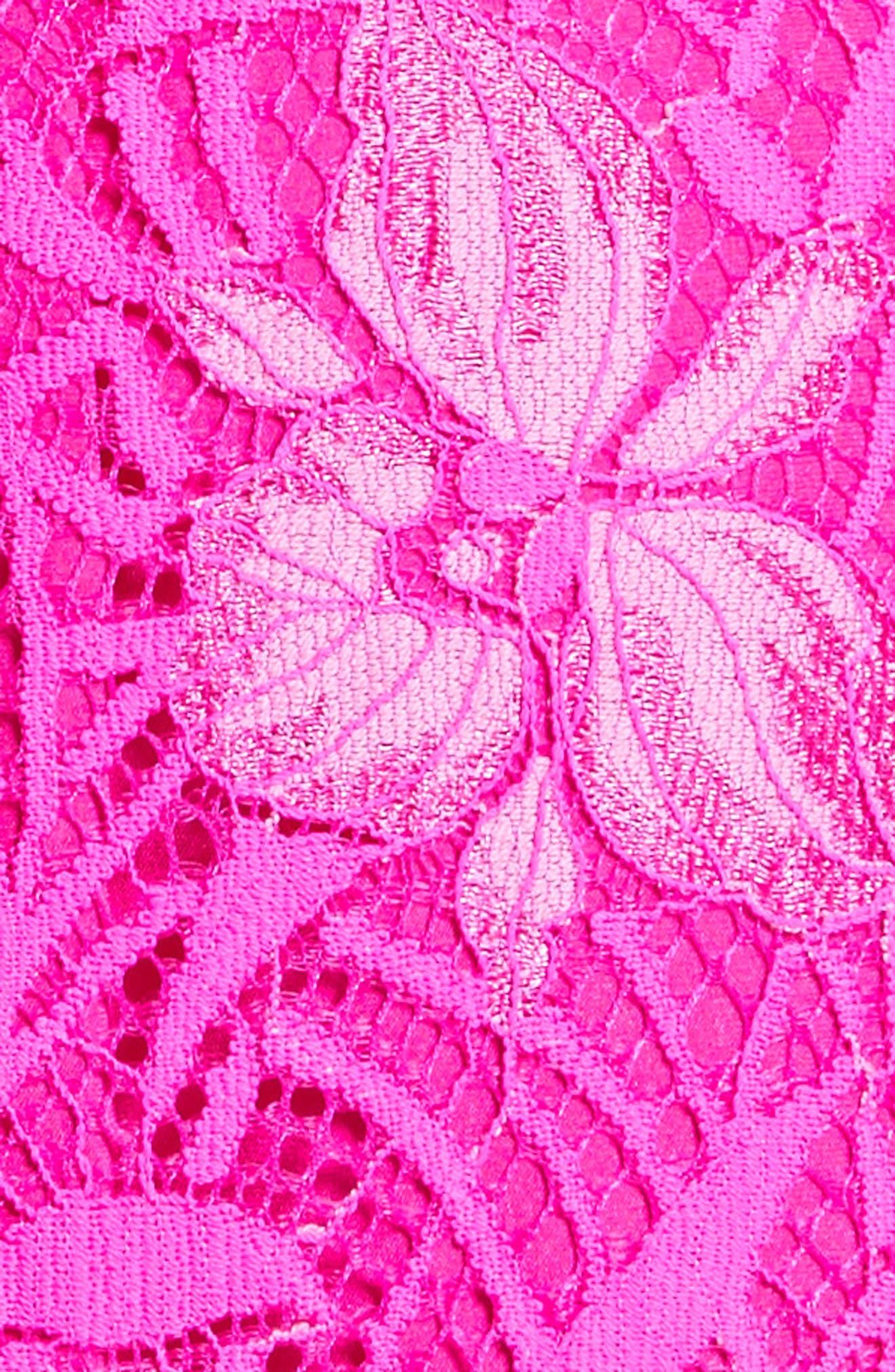 Floral Lace Sheath Dress,                             Alternate thumbnail 7, color,                             659