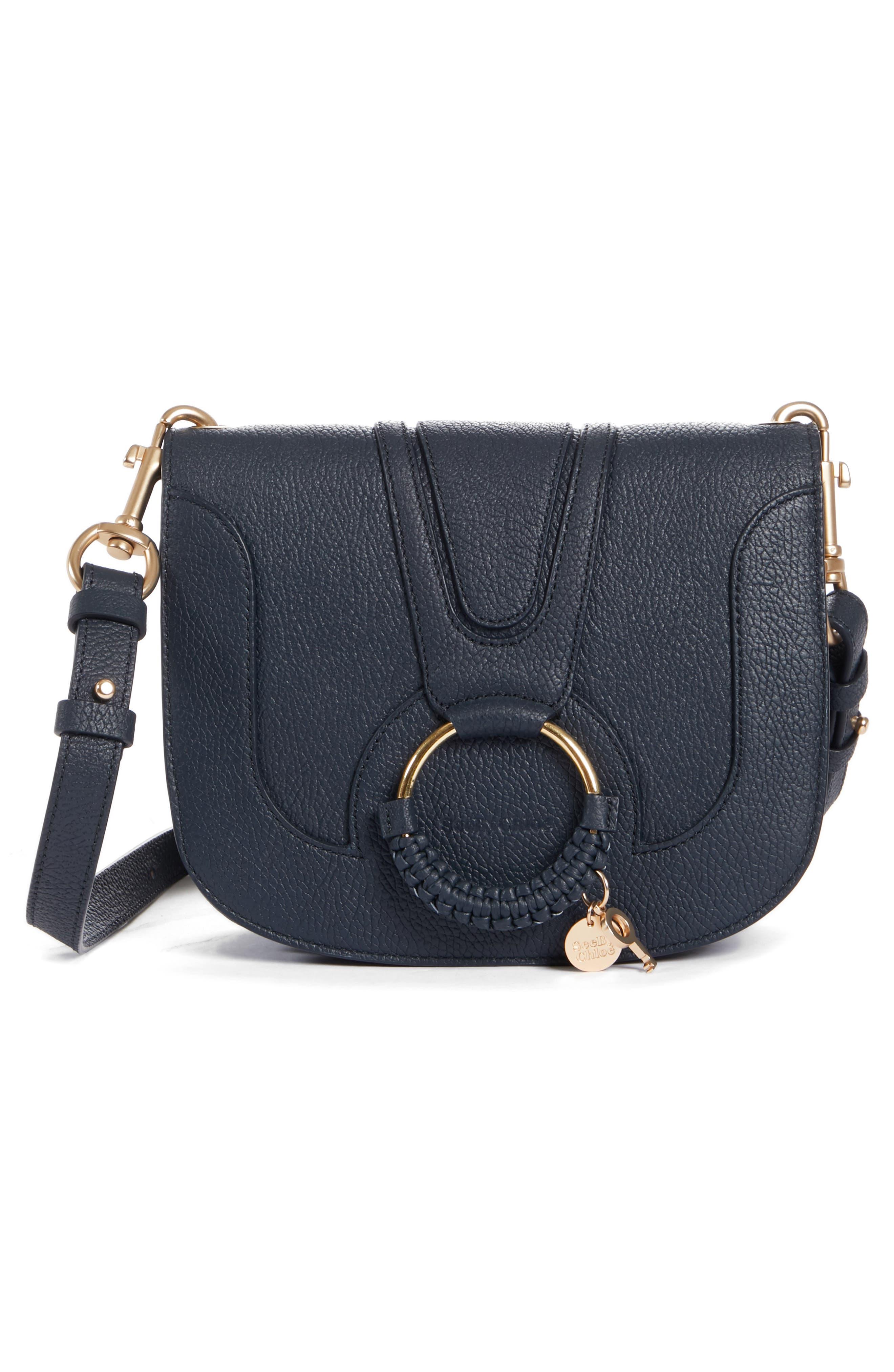 Hana Leather Shoulder Bag,                             Alternate thumbnail 3, color,                             401