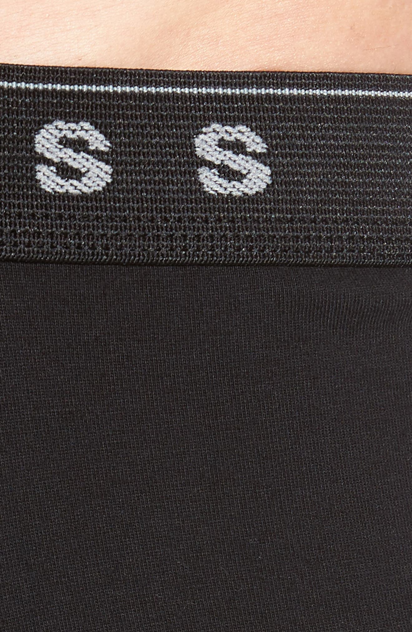 3-Pack Cotton Boxer Briefs,                             Alternate thumbnail 5, color,                             BLACK