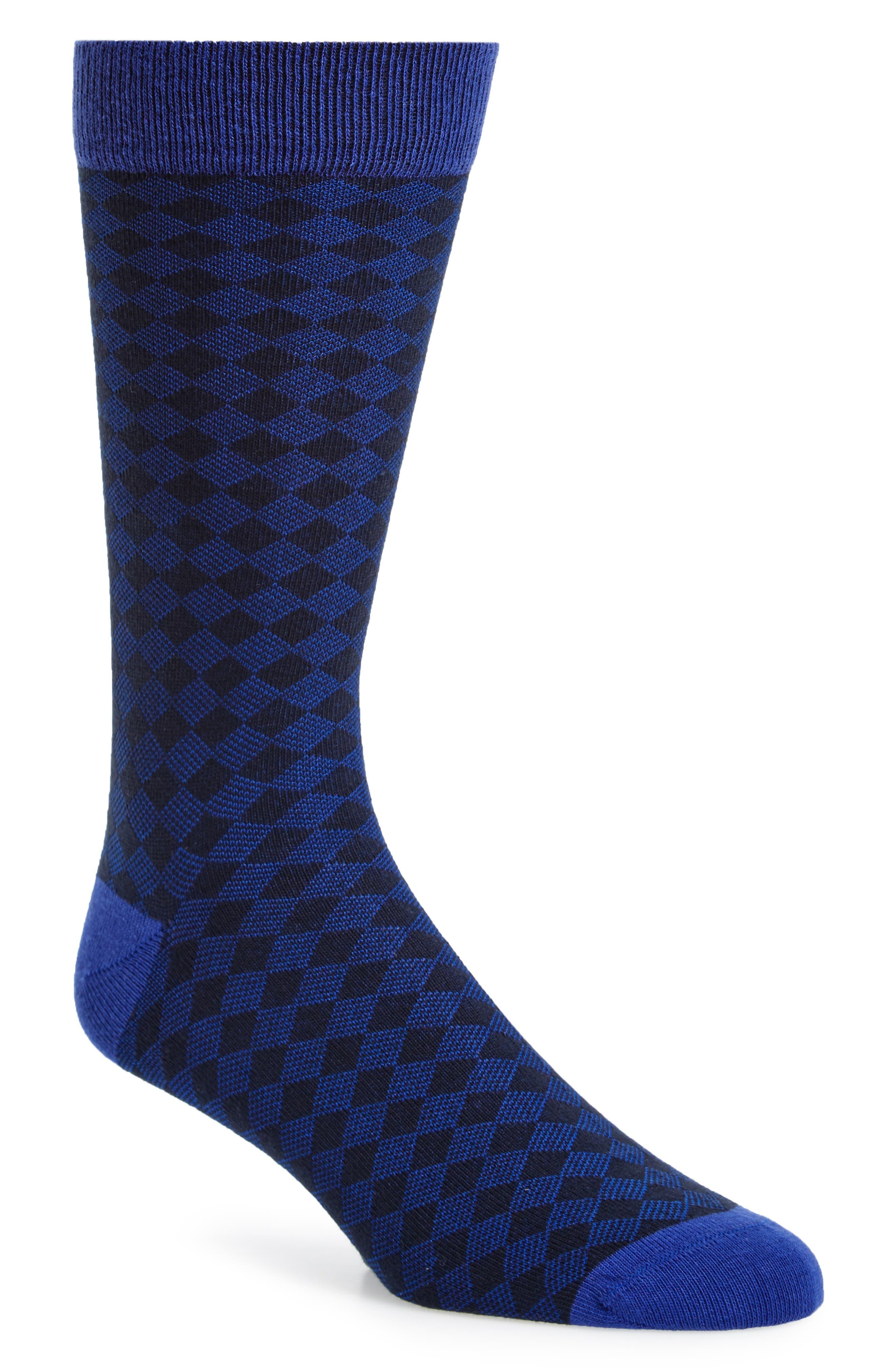 Oakwood Geometric Socks,                         Main,                         color,