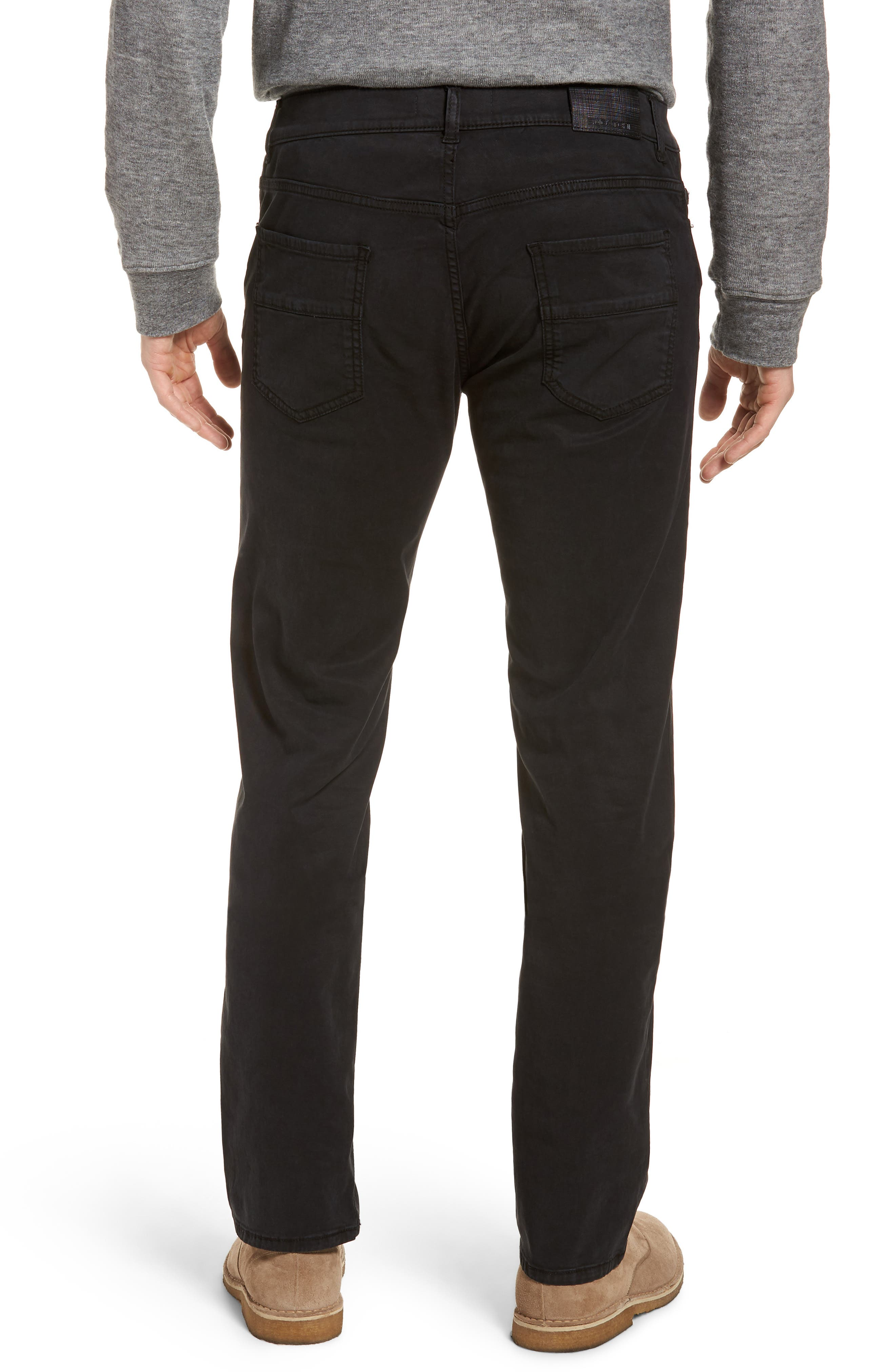 Slim Fit Washed Five-Pocket Pants,                             Alternate thumbnail 2, color,                             001