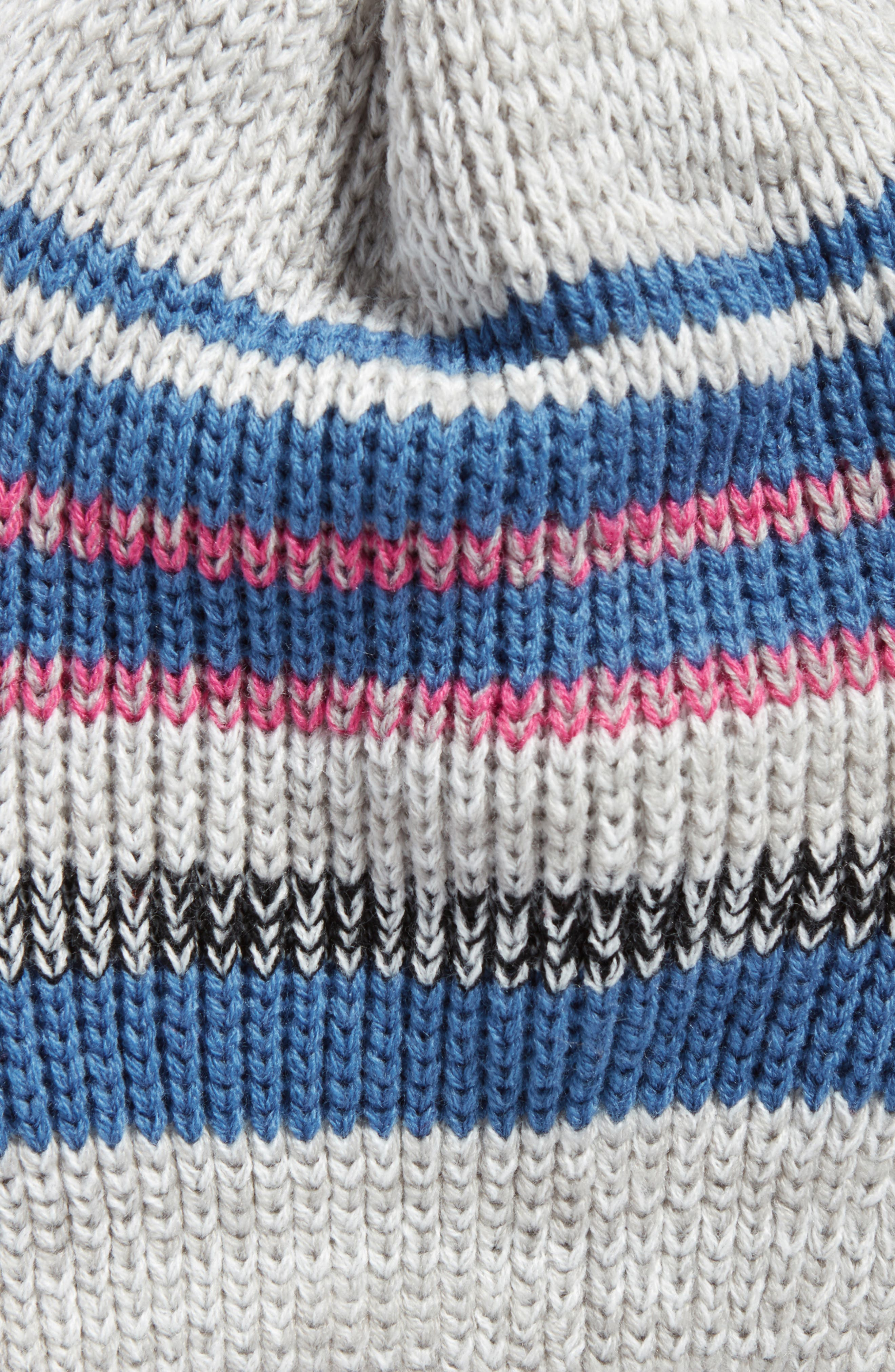 Everyday Striped Beanie,                             Alternate thumbnail 2, color,                             400