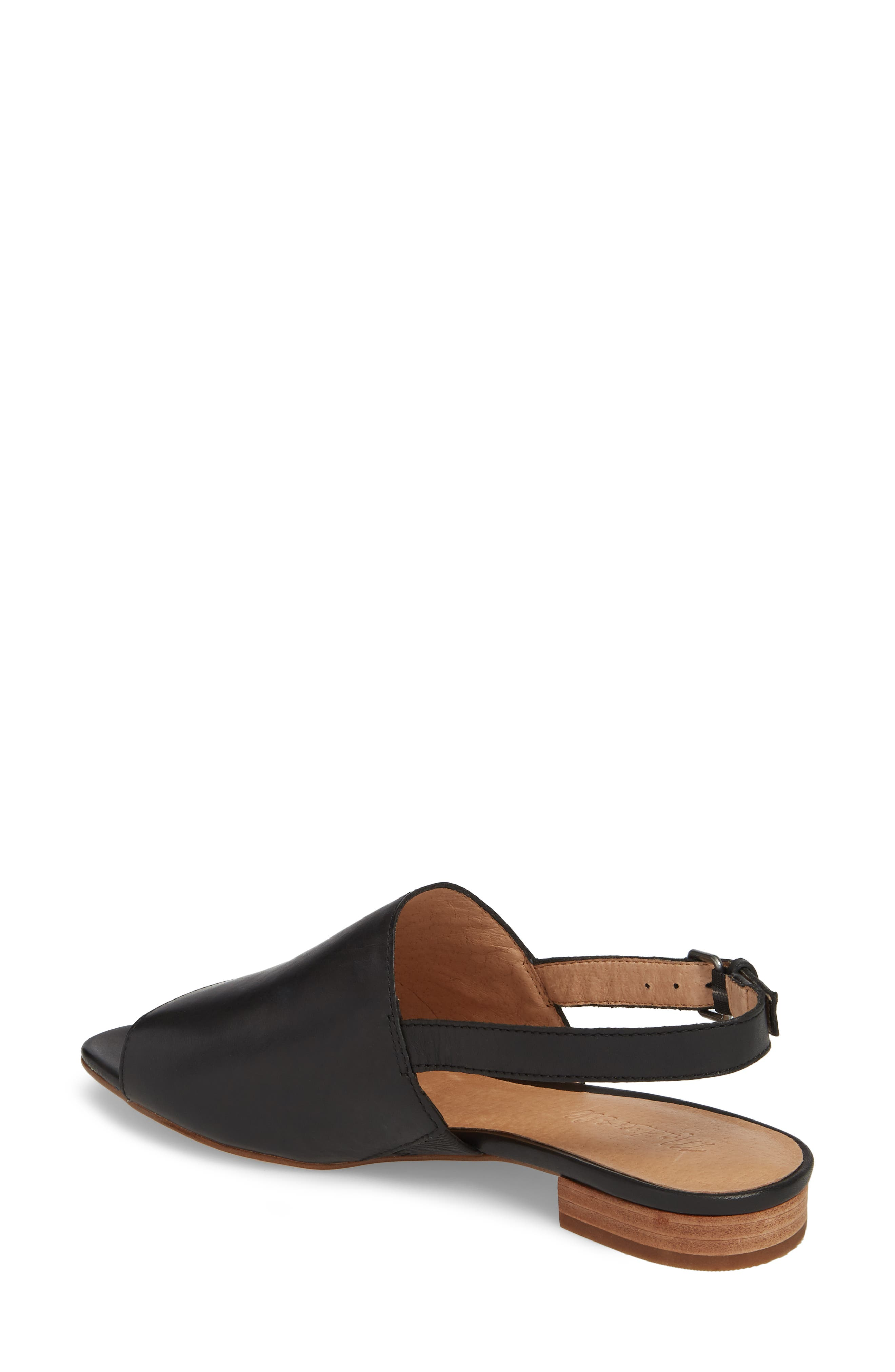 Noelle Slingback Sandal,                             Alternate thumbnail 2, color,                             001