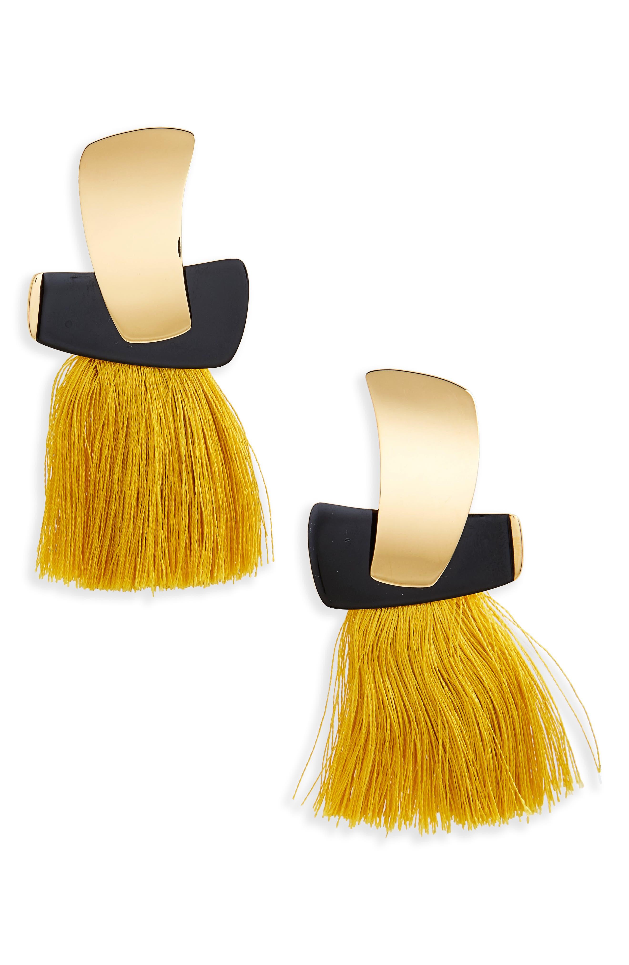 Totem Tassel Earrings,                             Main thumbnail 2, color,