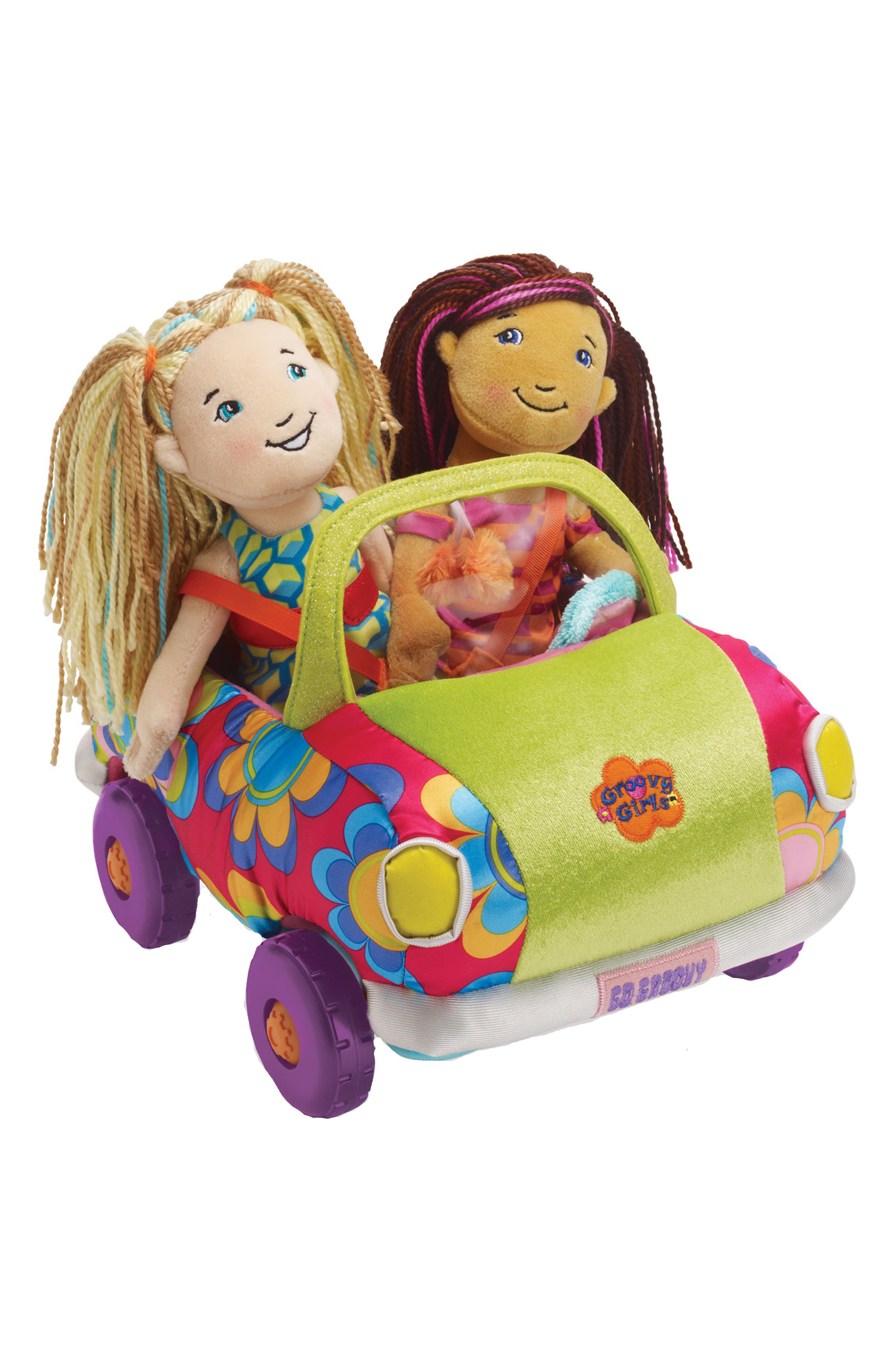 Groovy Girls - Wheelin' in Style Doll Mini Coupe,                             Alternate thumbnail 3, color,