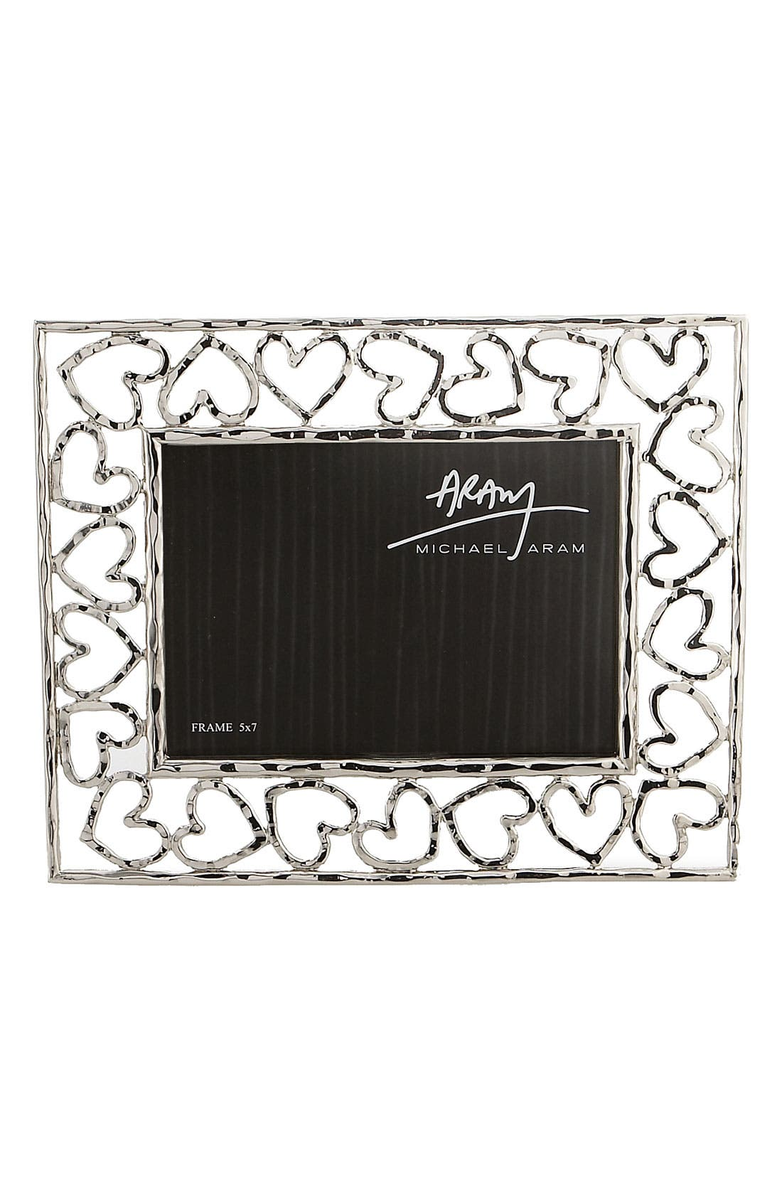 Heart Picture Frame,                             Alternate thumbnail 3, color,                             000