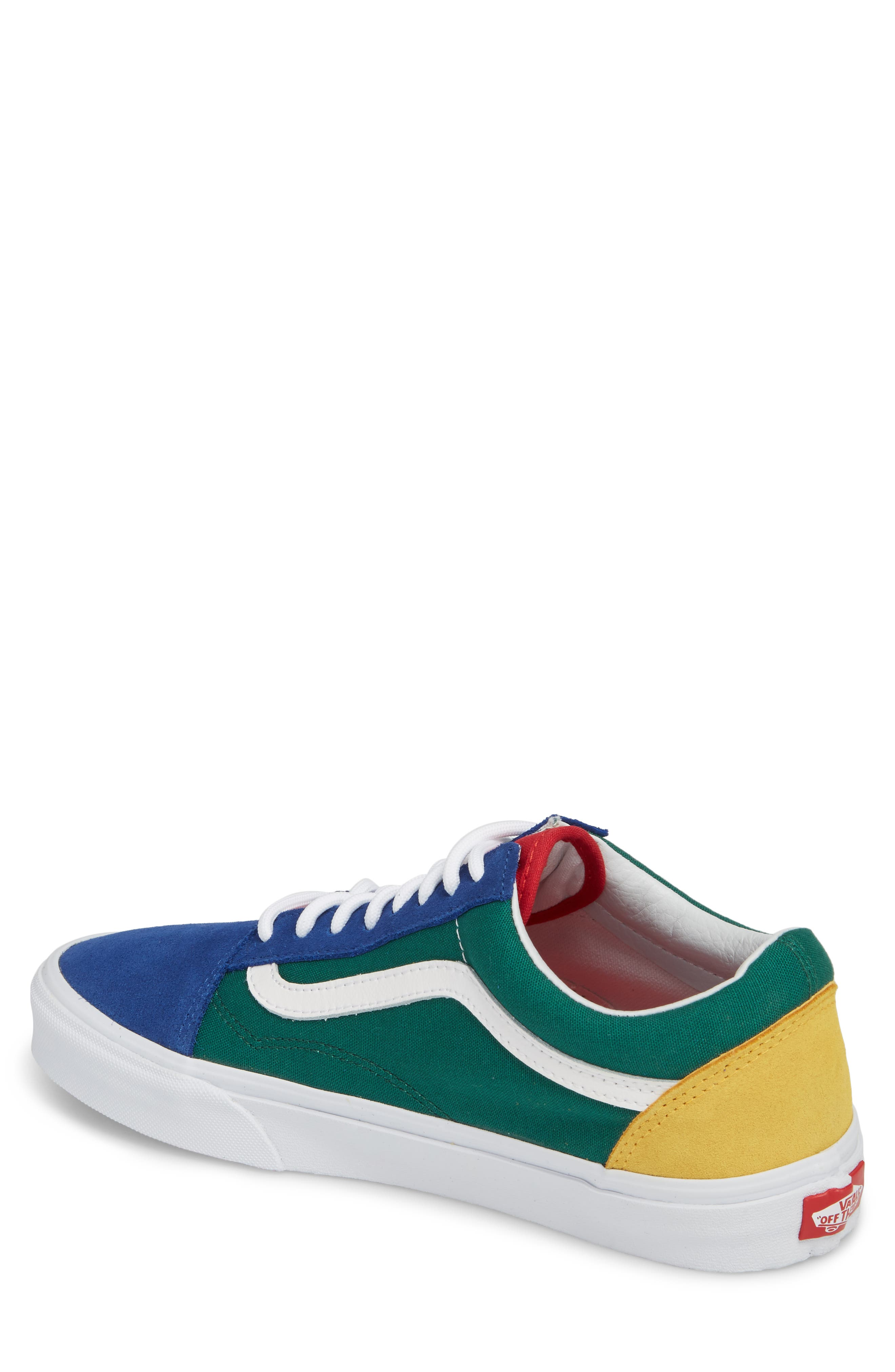 Yacht Club Old Skool Sneaker,                             Alternate thumbnail 2, color,                             300