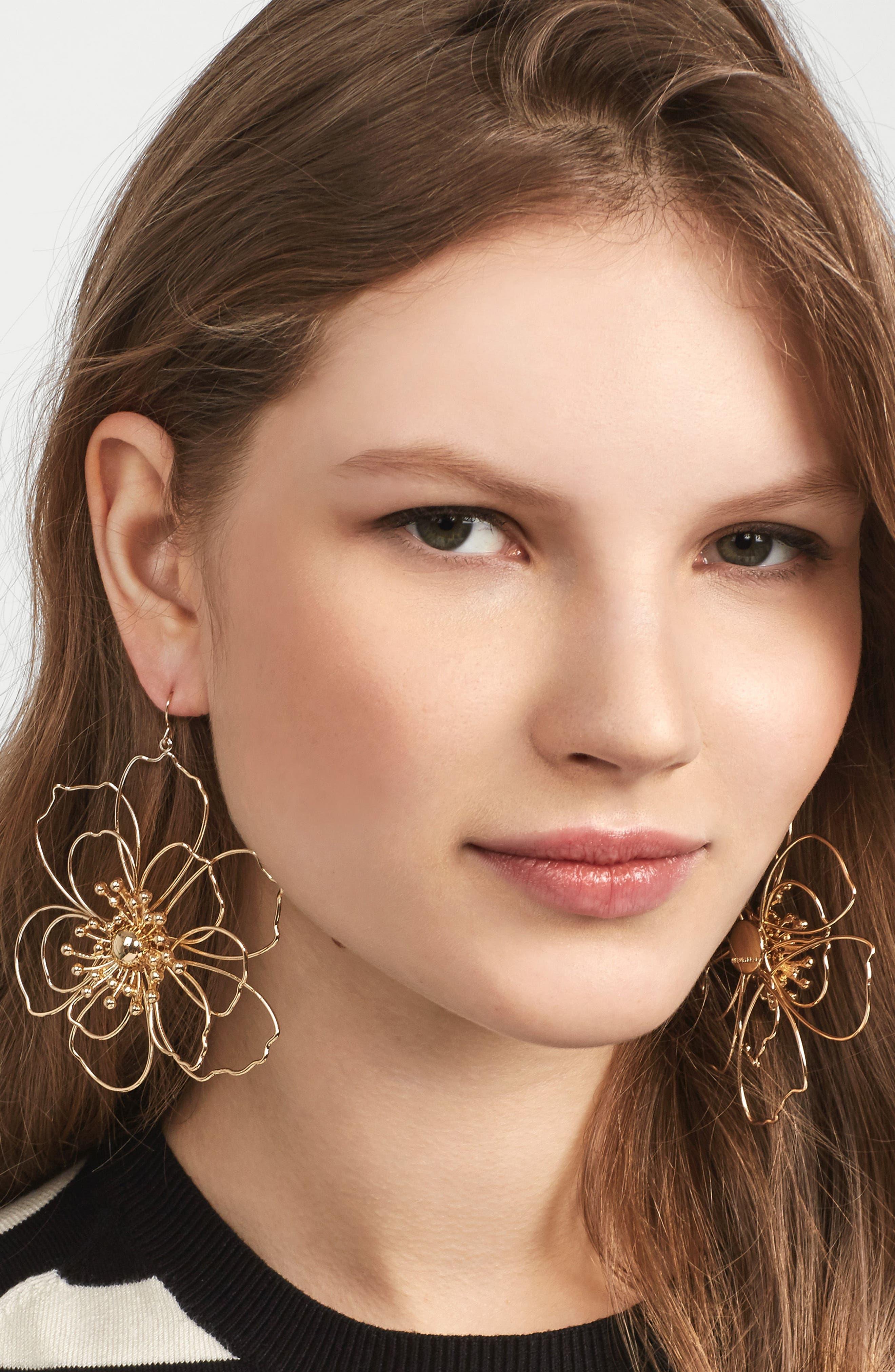 Blossom Drop Earrings,                             Alternate thumbnail 2, color,                             710