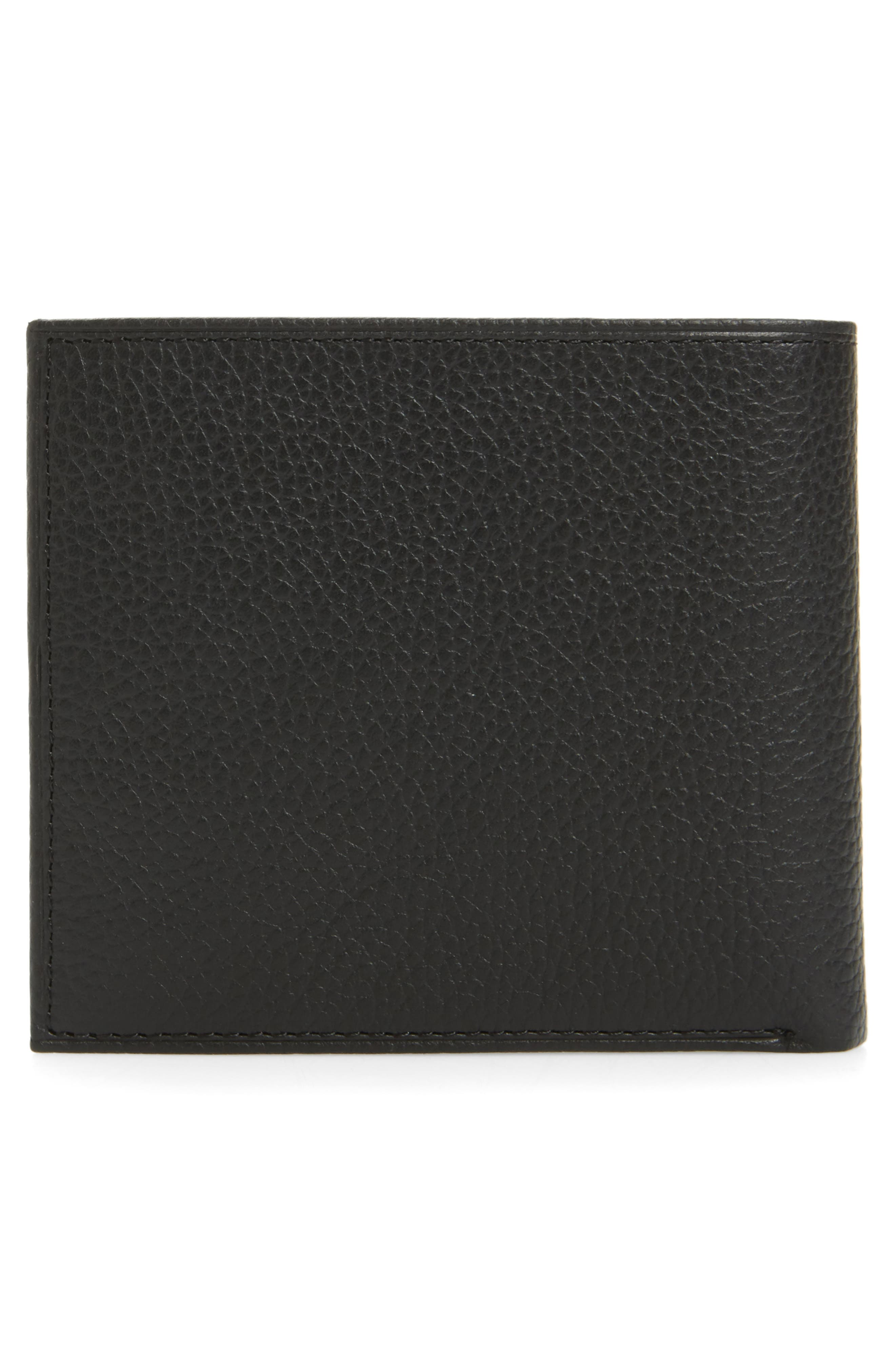 Leather Wallet,                             Alternate thumbnail 8, color,