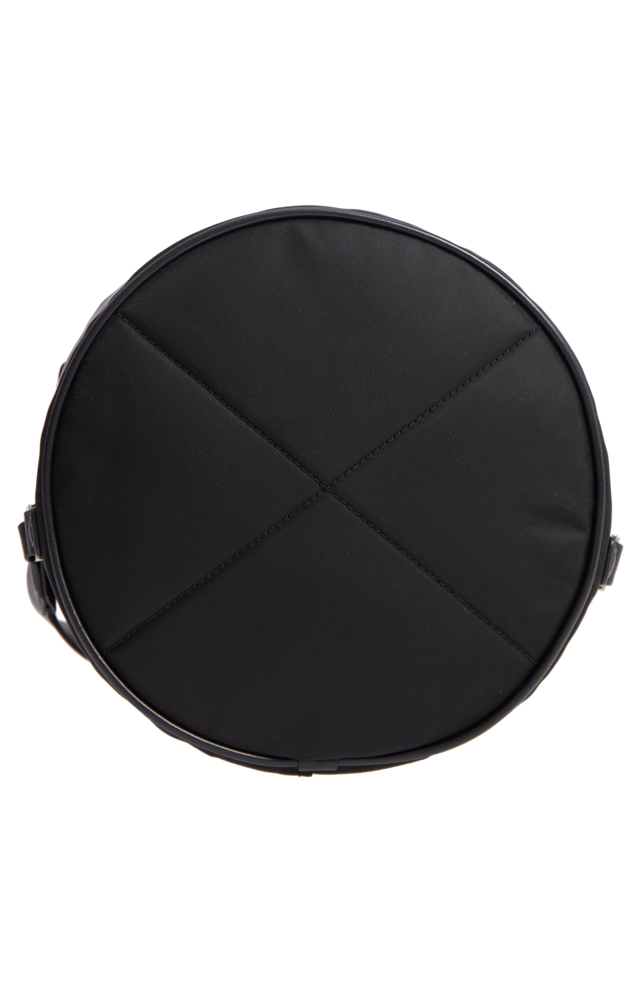 Nylon Sport Sling Bag,                             Alternate thumbnail 6, color,                             BLACK
