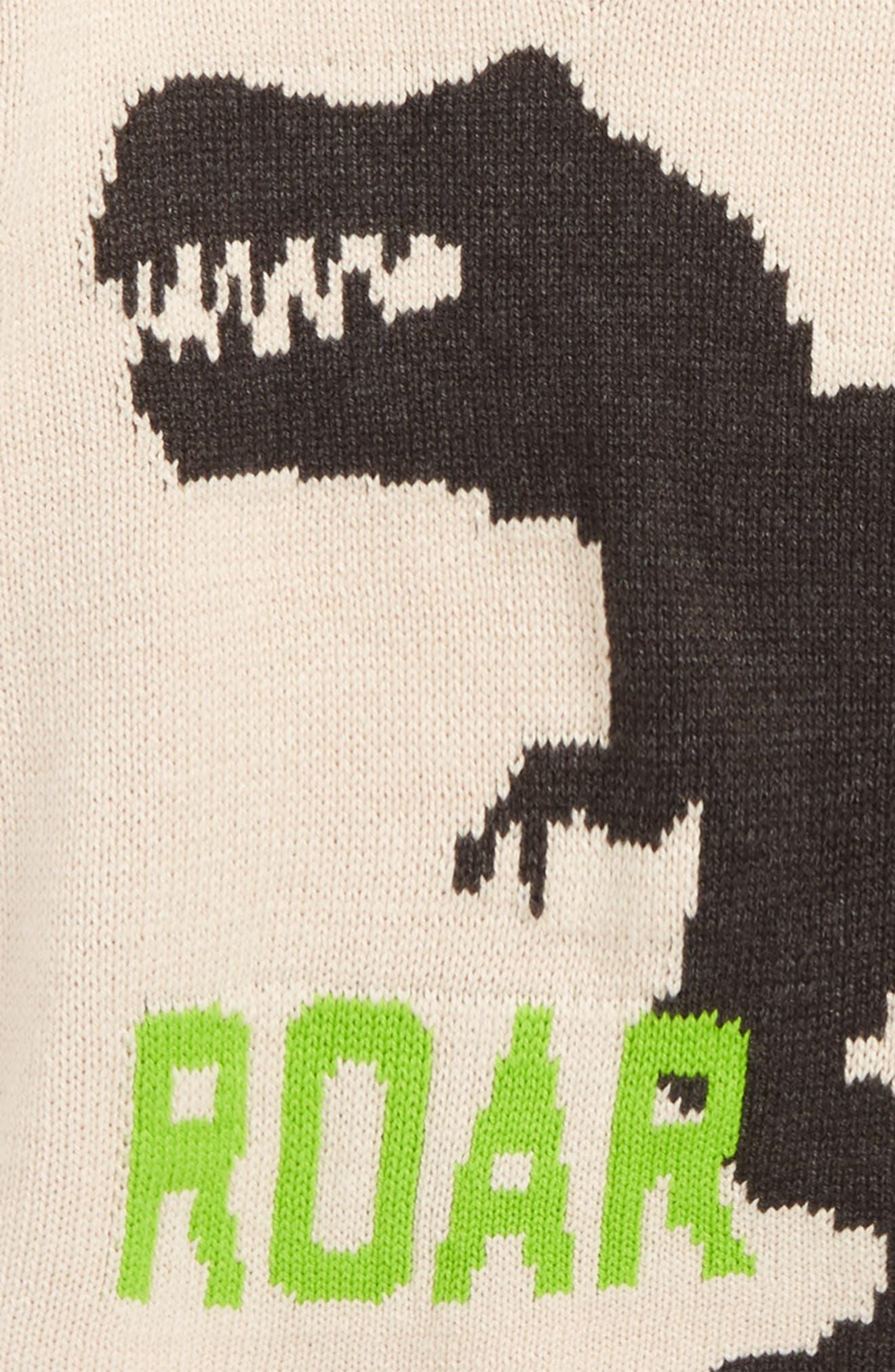 Intarsia V-Neck Sweater,                             Alternate thumbnail 2, color,                             251