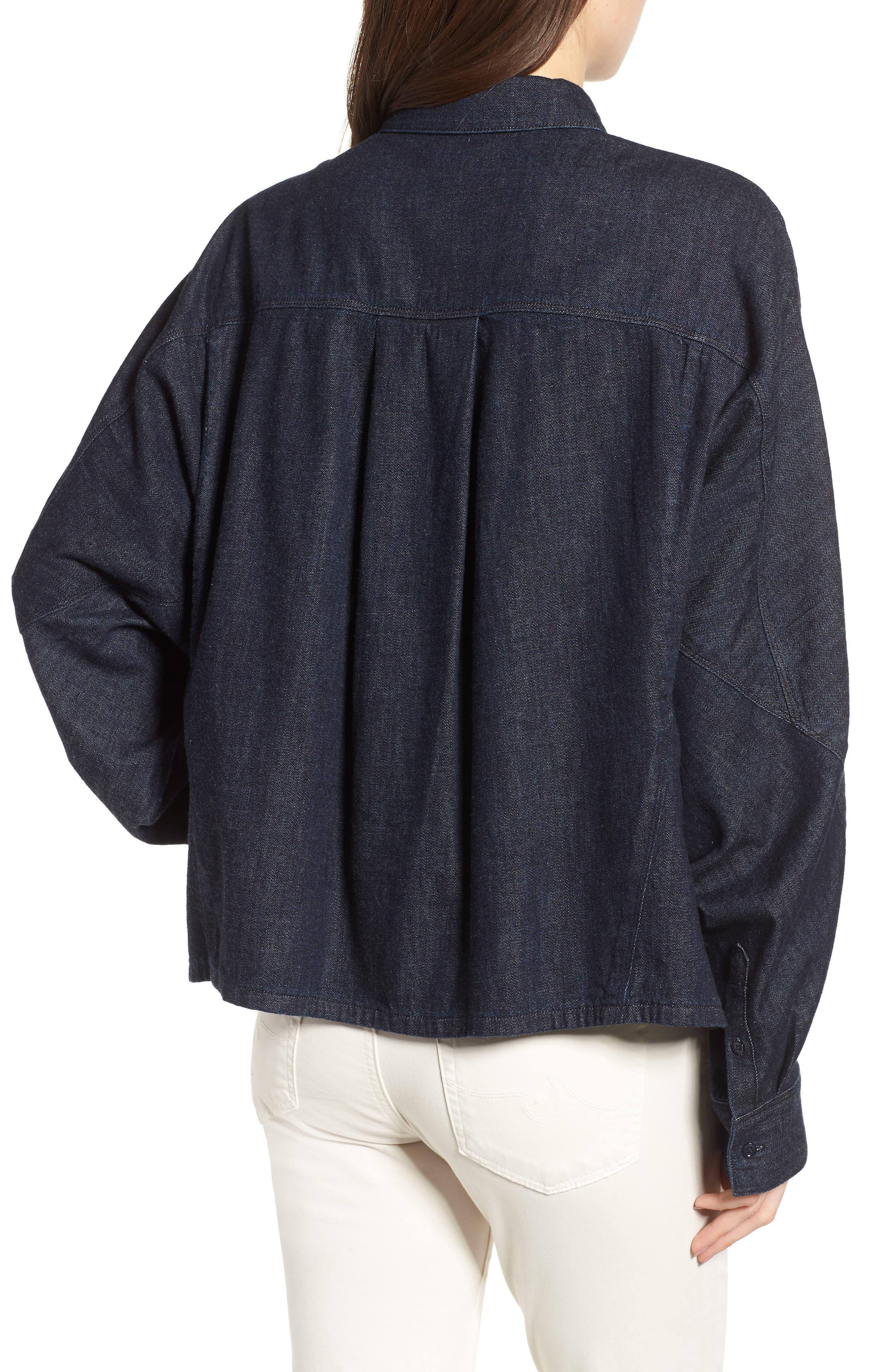 Acoustic Denim Shirt,                             Alternate thumbnail 2, color,                             439