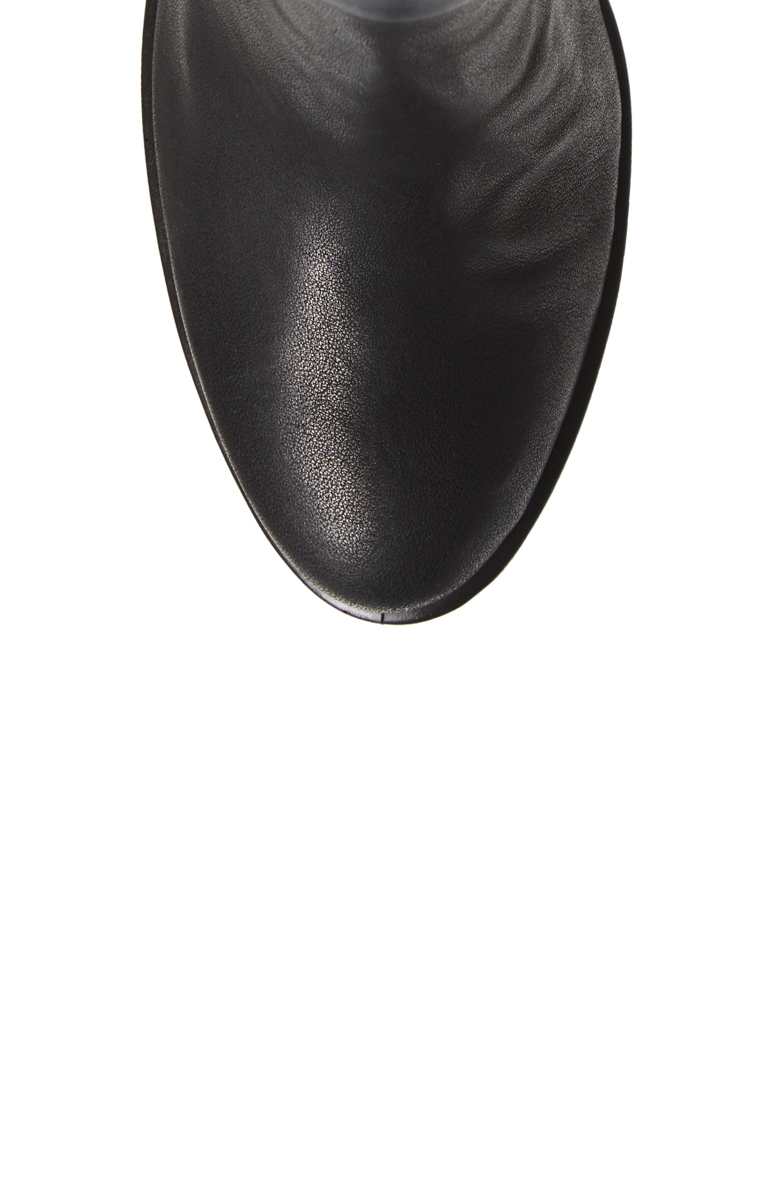 Shape 55 Tall Boot,                             Alternate thumbnail 5, color,                             001
