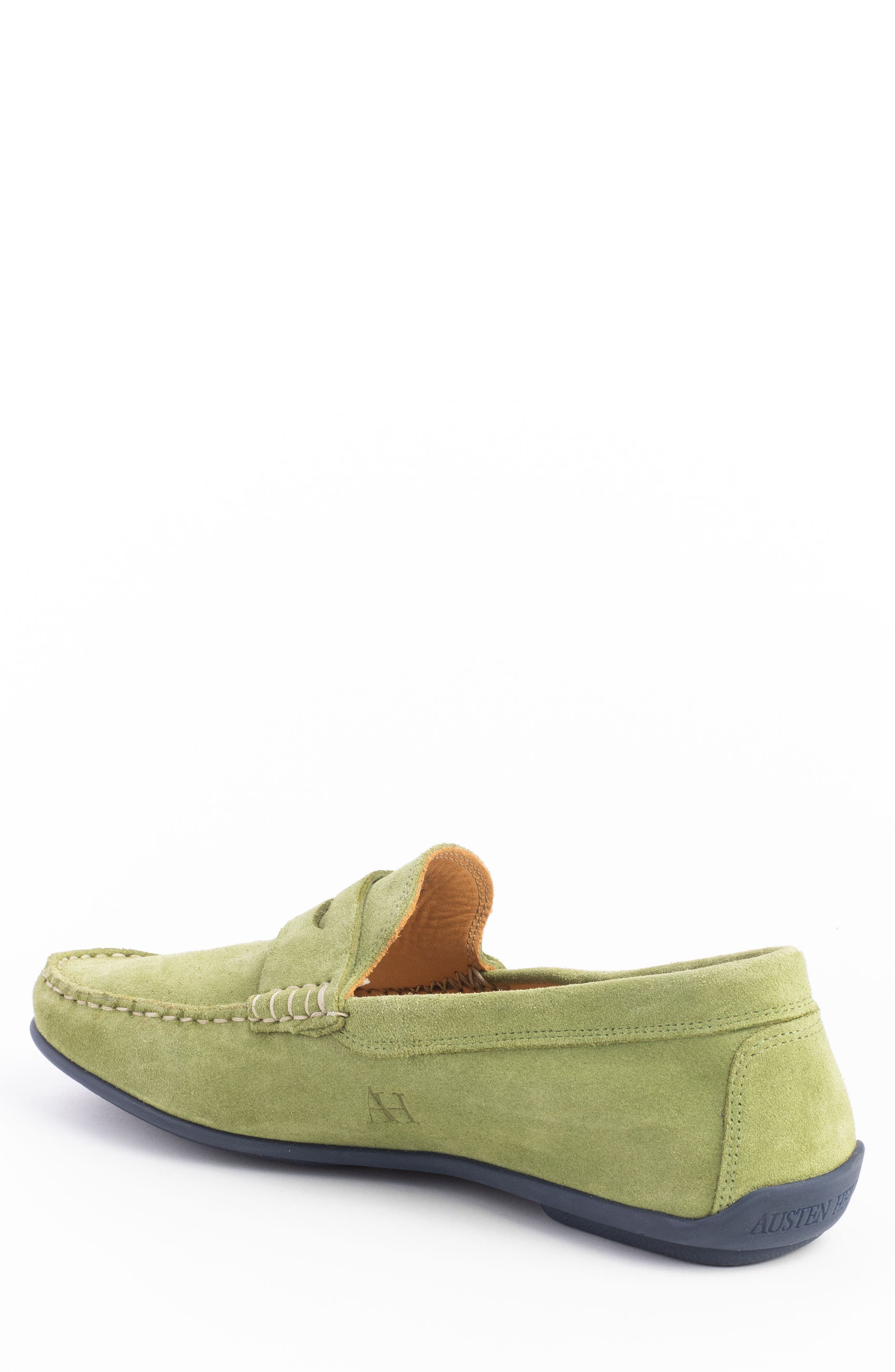 'Parkers' Penny Loafer,                             Alternate thumbnail 2, color,                             SPRING GREEN