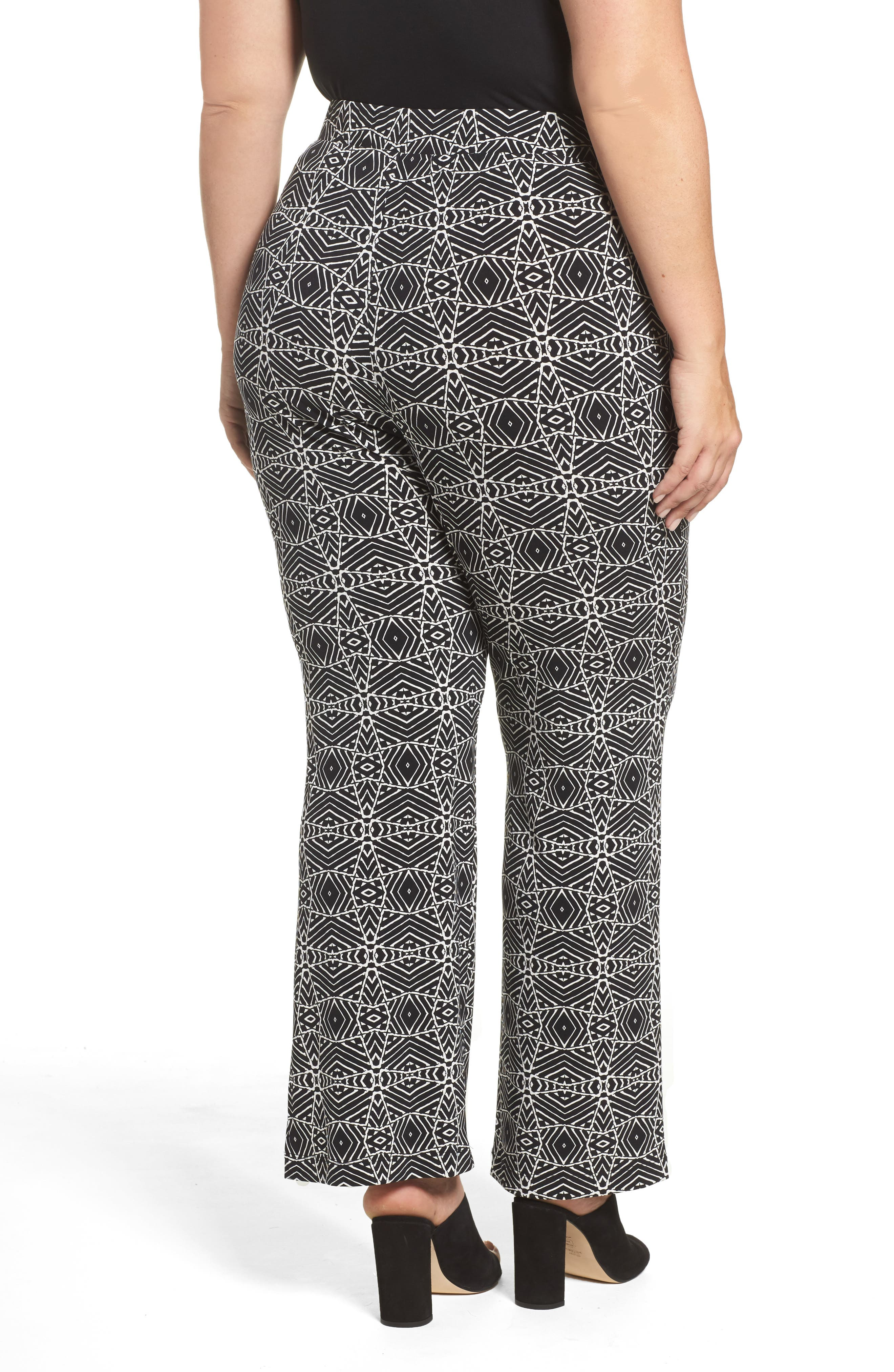 Graphic Print Pull-On Pants,                             Alternate thumbnail 2, color,