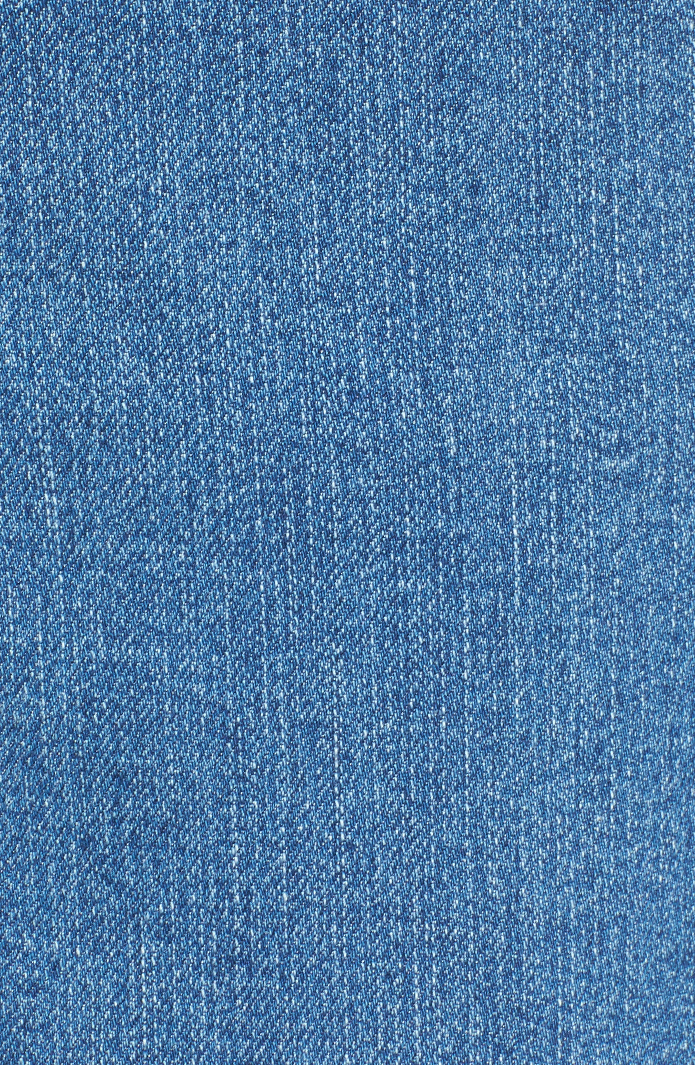 Marilyn Stretch Straight Leg Jeans,                             Alternate thumbnail 5, color,                             424