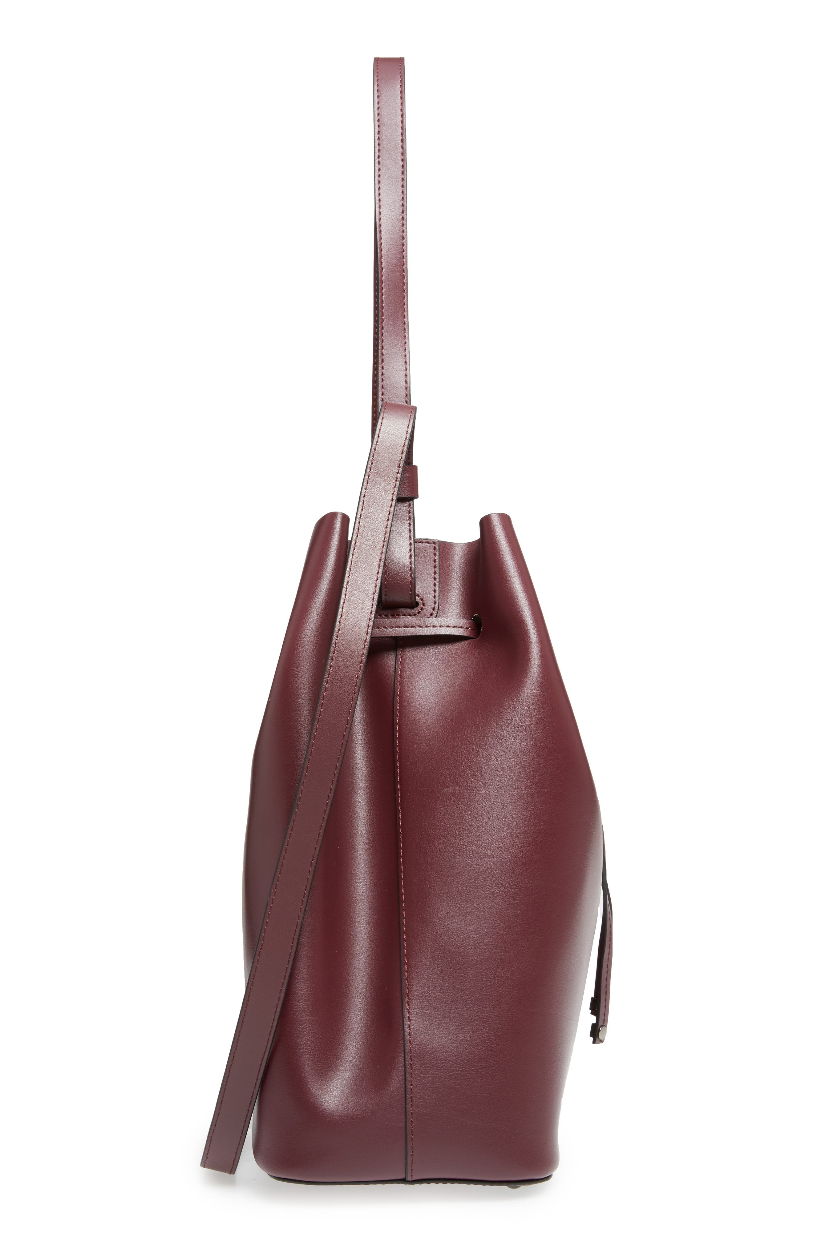 Silicon Valley Large Halina Leather Bucket Bag,                             Alternate thumbnail 15, color,