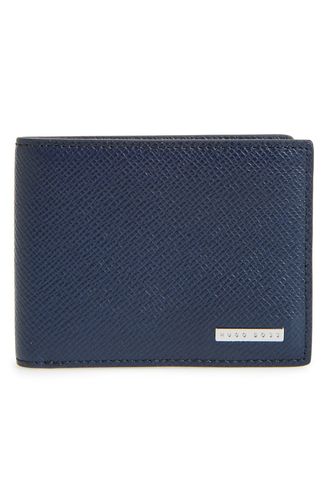 'Signature' Bifold Wallet,                             Main thumbnail 3, color,